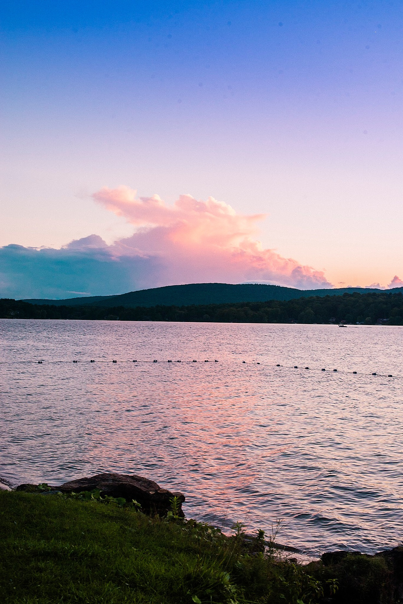 Sunset in The Berkshires by Taylor McIntyre