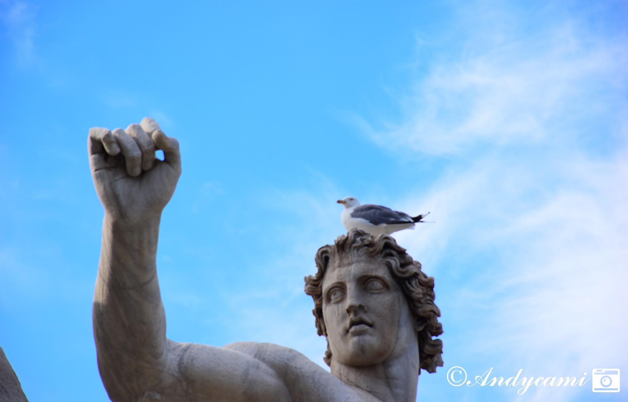 Statue da vicino #2 by Andres Camilo Peragine
