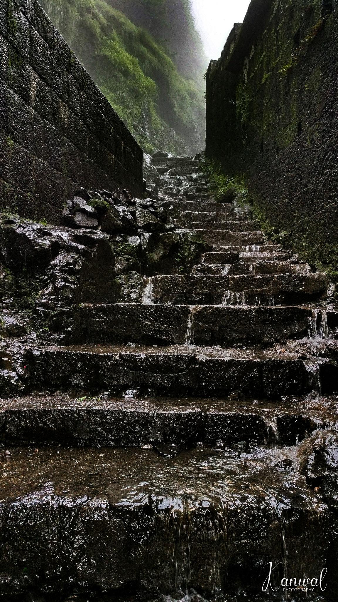 one step at a time. by Kanwaljeet Singh