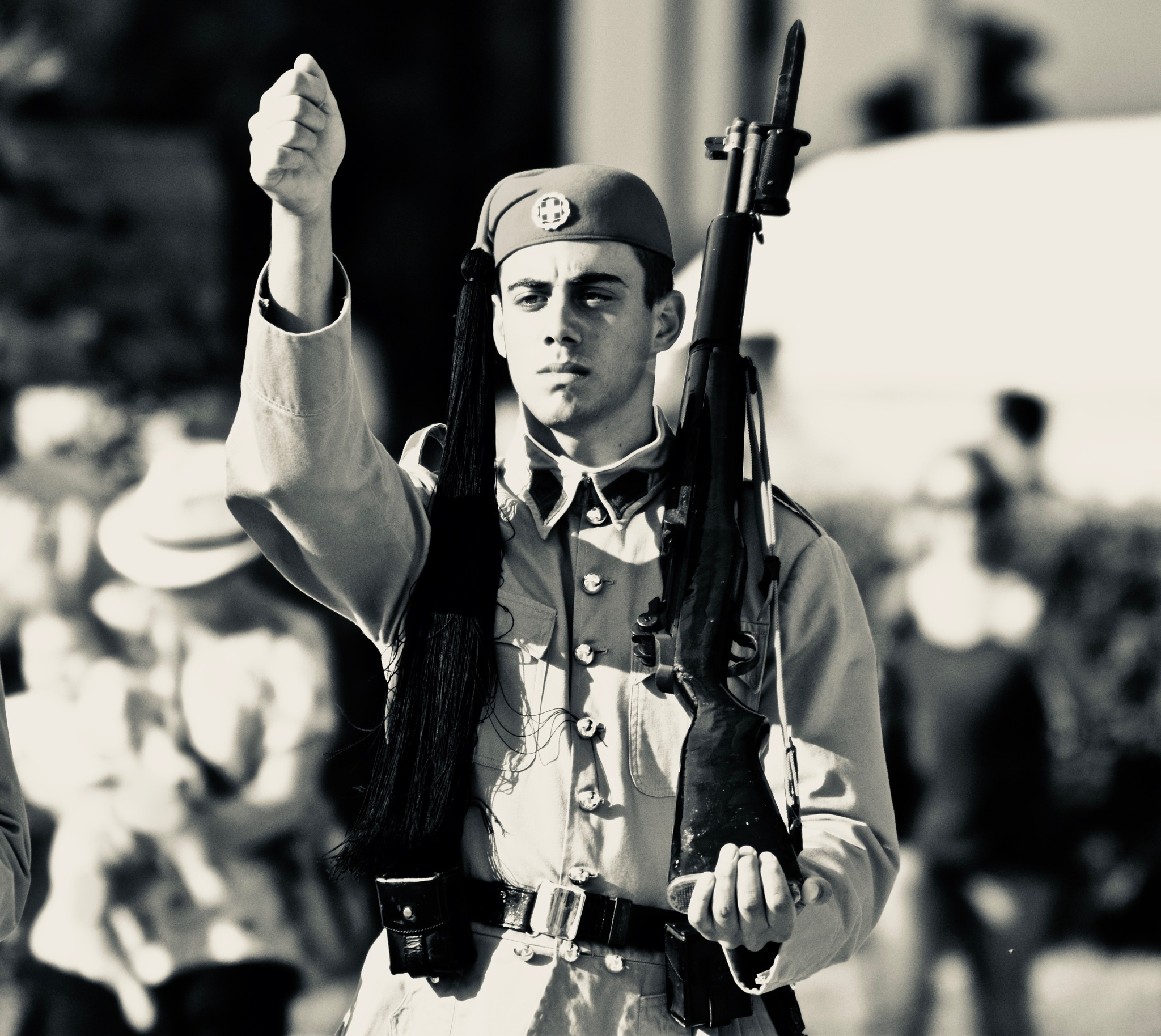 GREEK SOLDIER by Aca Markovic