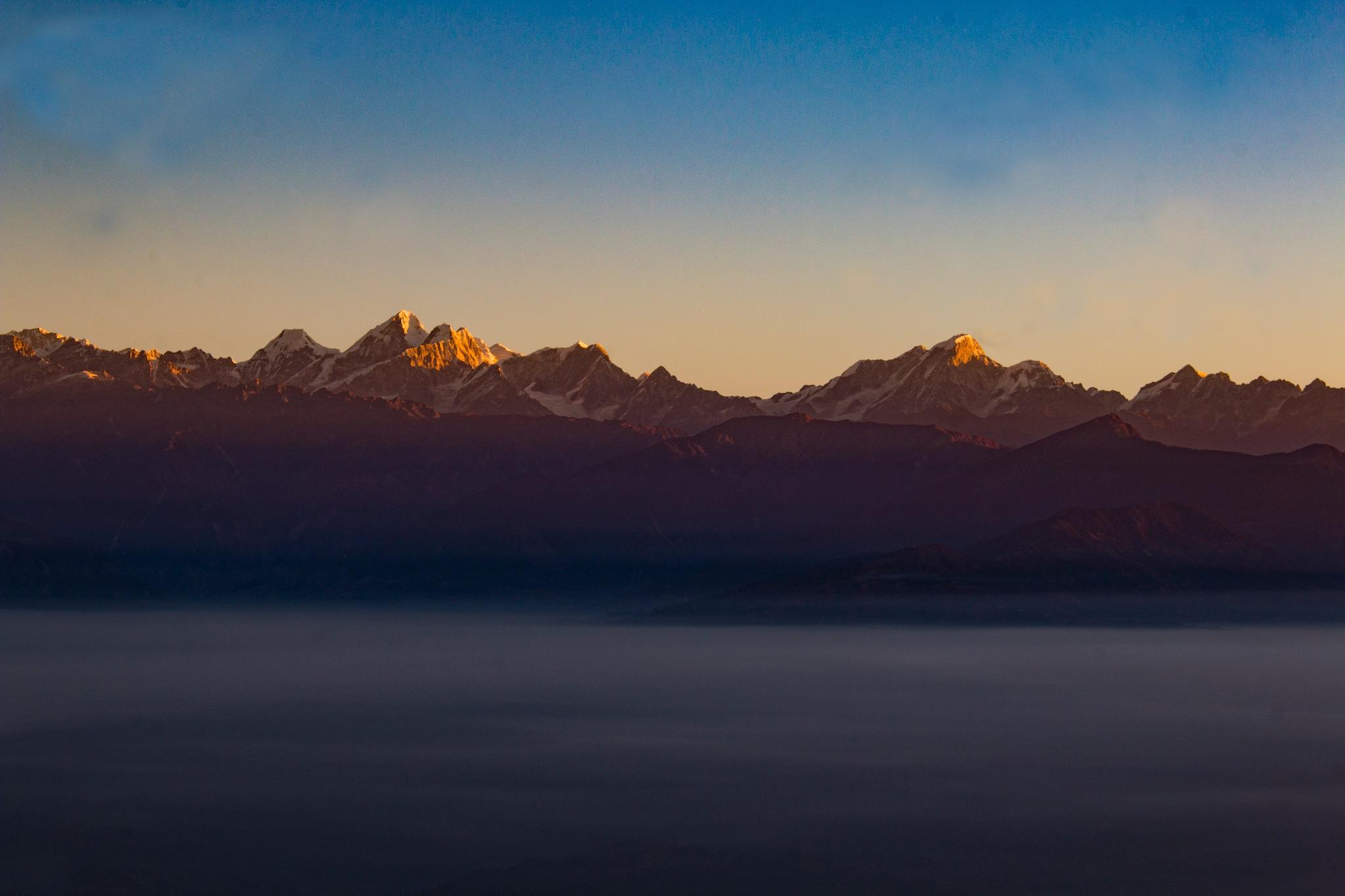 The Golden Light  by Deepak Prajapat