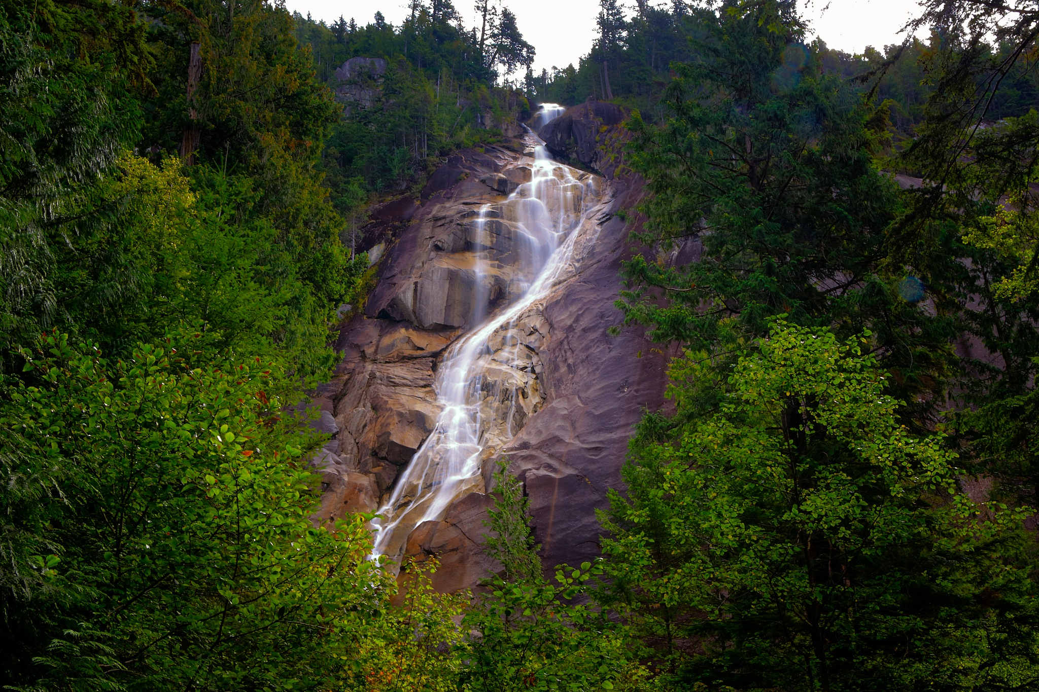 Shannon Falls by Jerry Palisoc