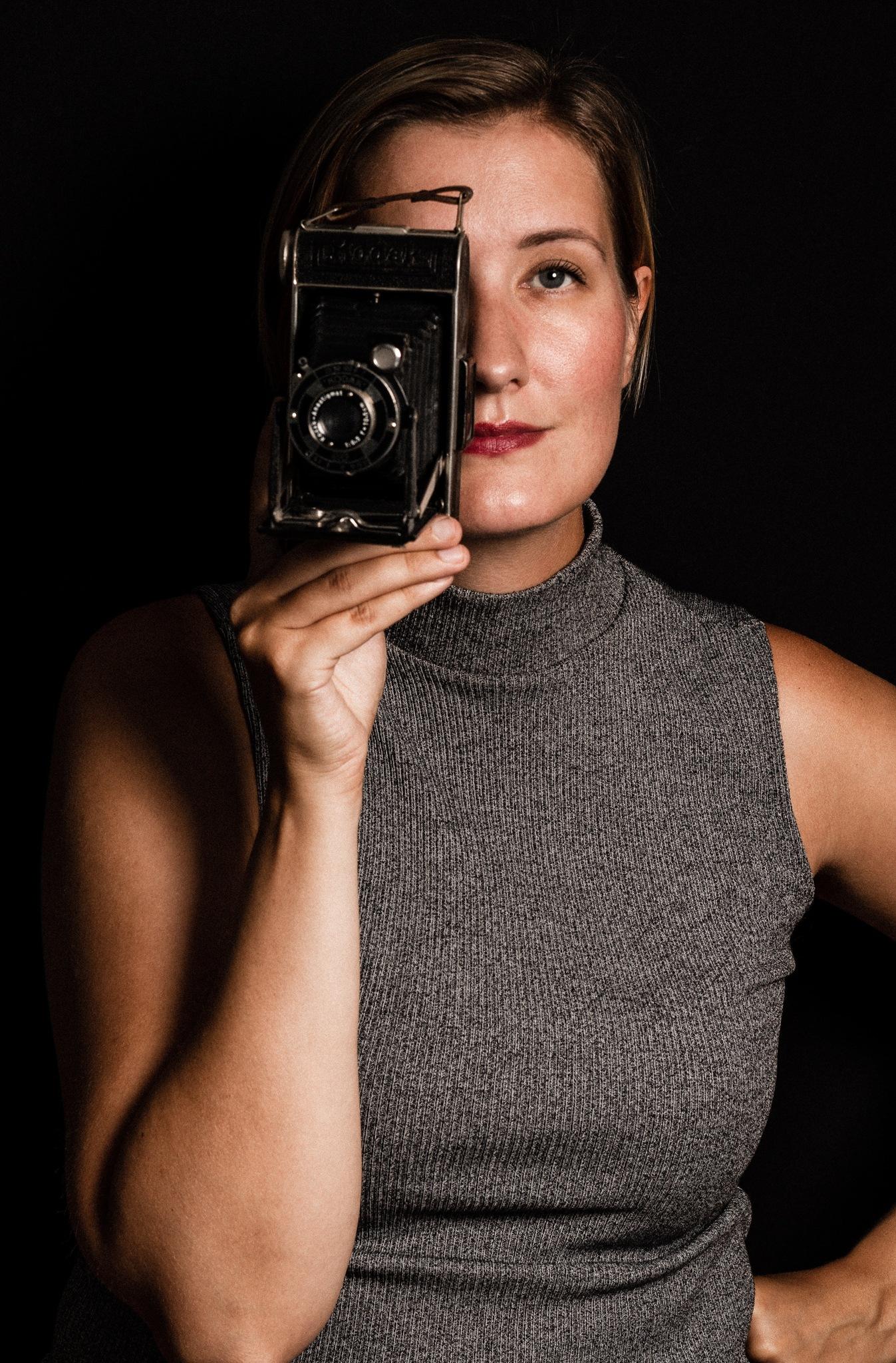 Self portrait. by Anna Theolinda