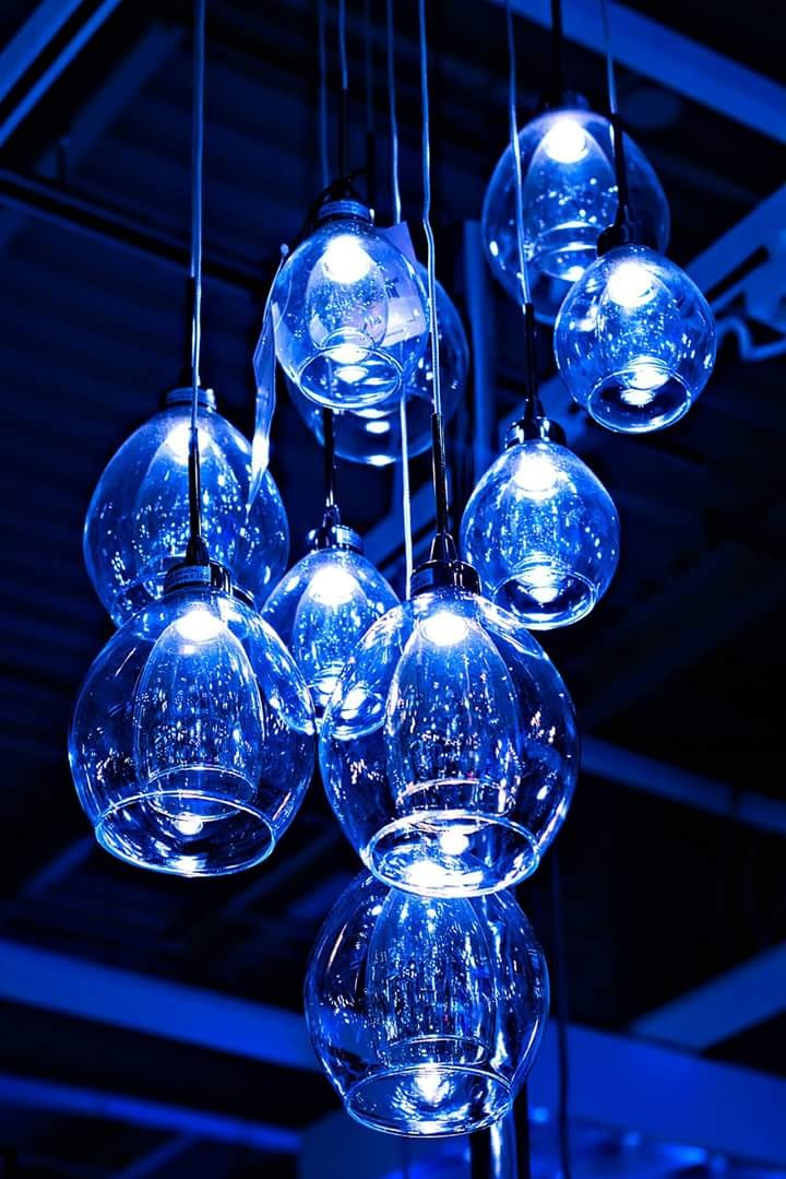 Contemporary fashion lights by Ralph Harlow