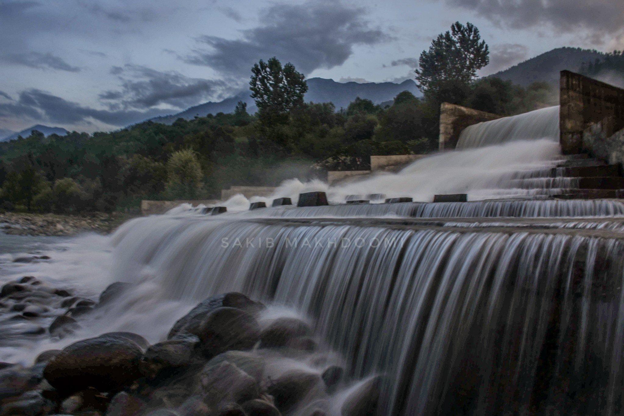 waterfall by Rehan Sarmad
