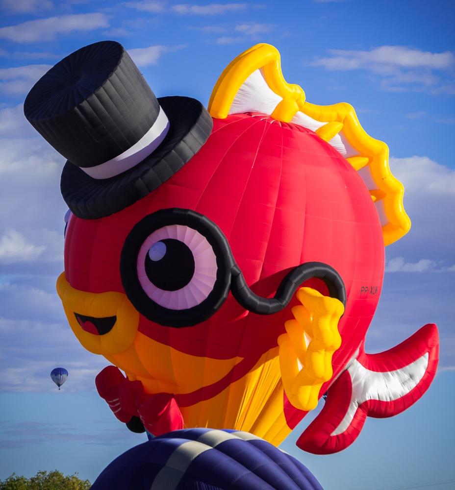 Fishy balloon again.... by Edward Hudgeons