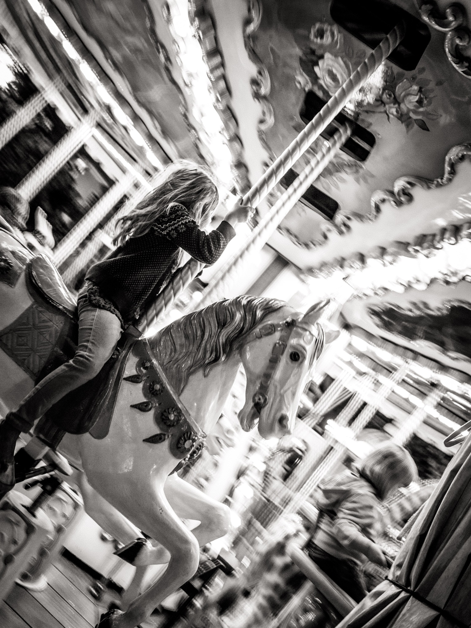 Hold fast to your merry-go-round memories by Sean Braff