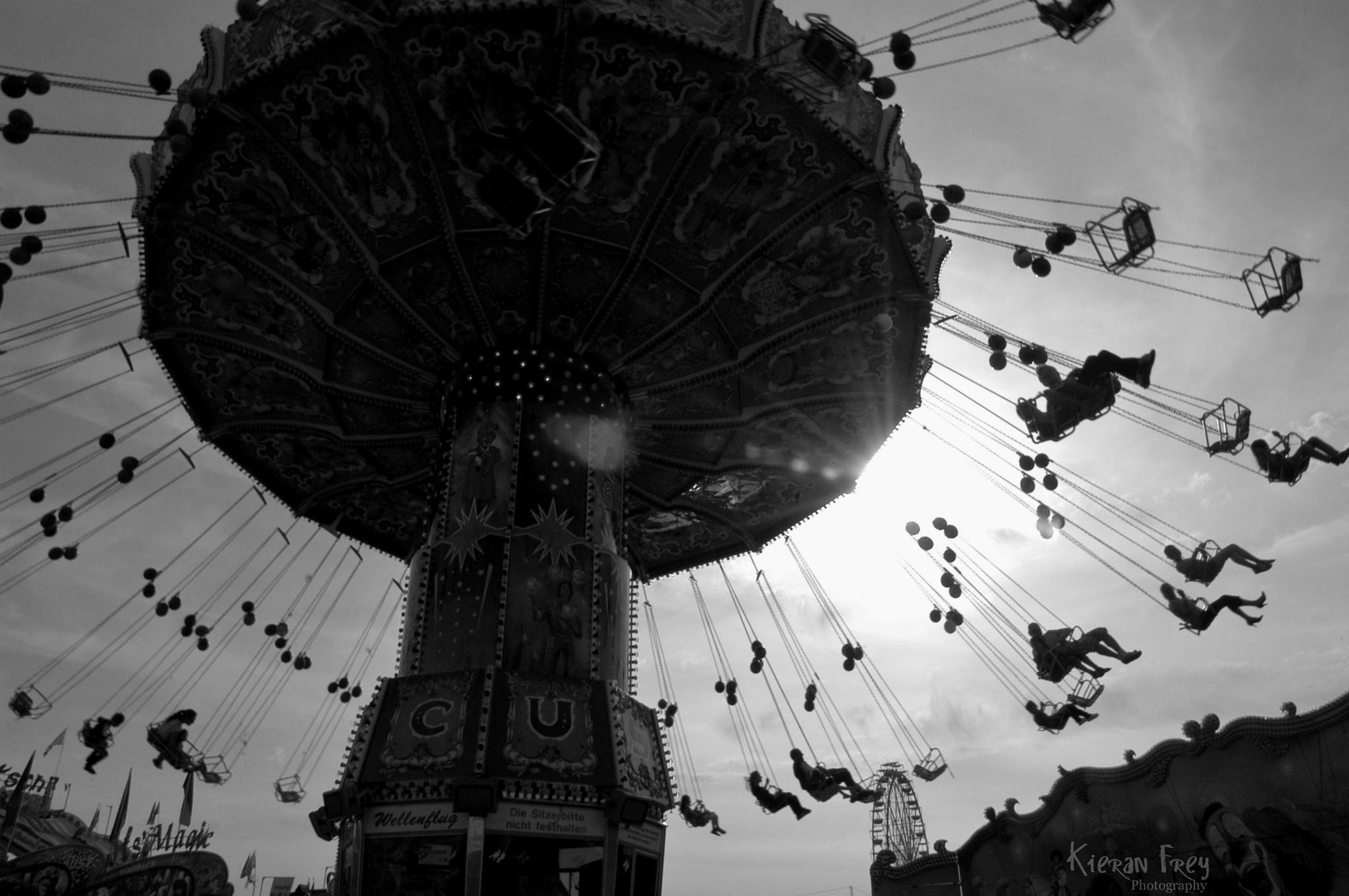 Around and Around by Kieran Frey
