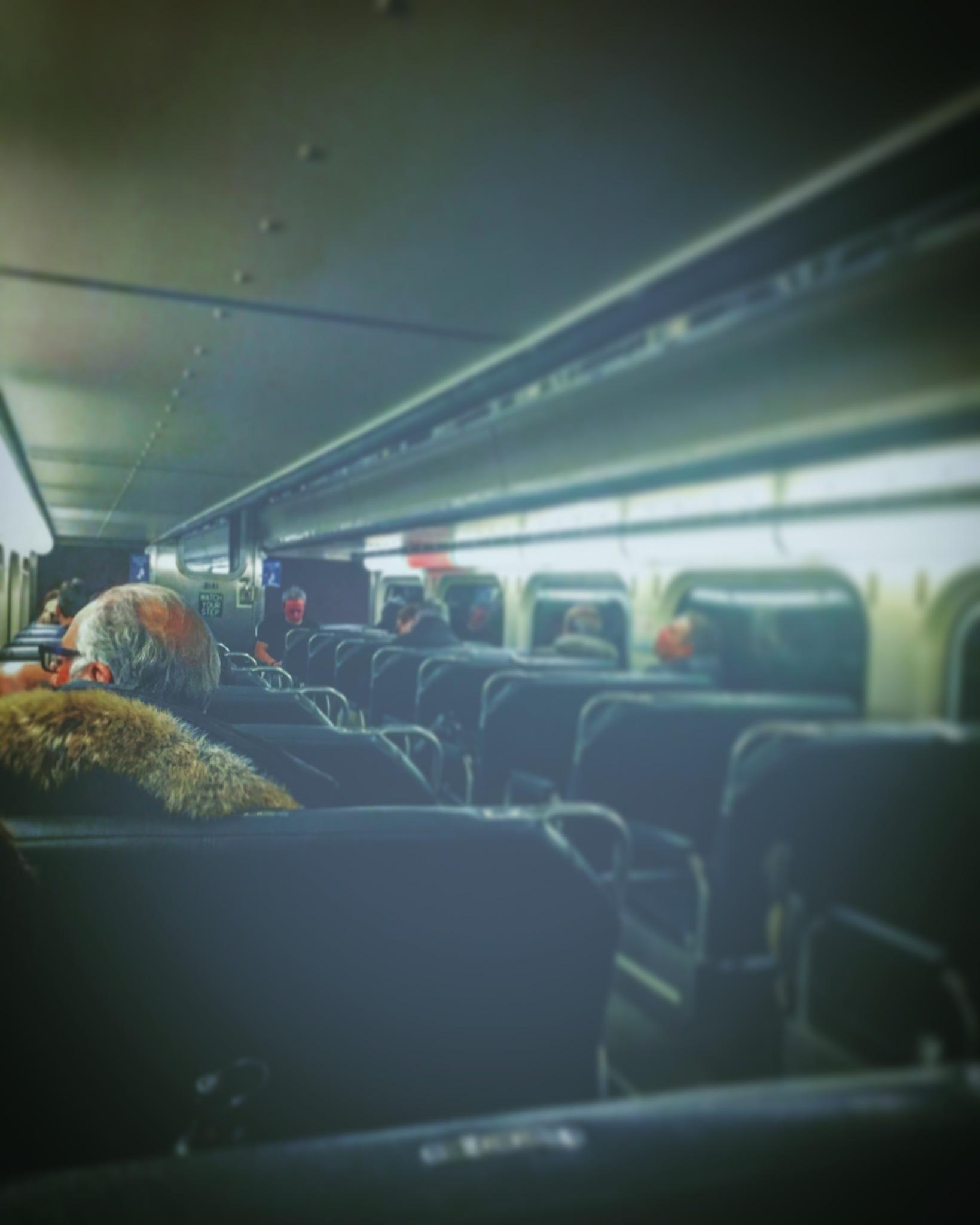 Metra commute  by Simone Hobbs