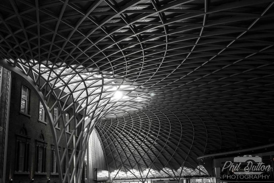 Kings Cross Station by Phil Dutton Photography