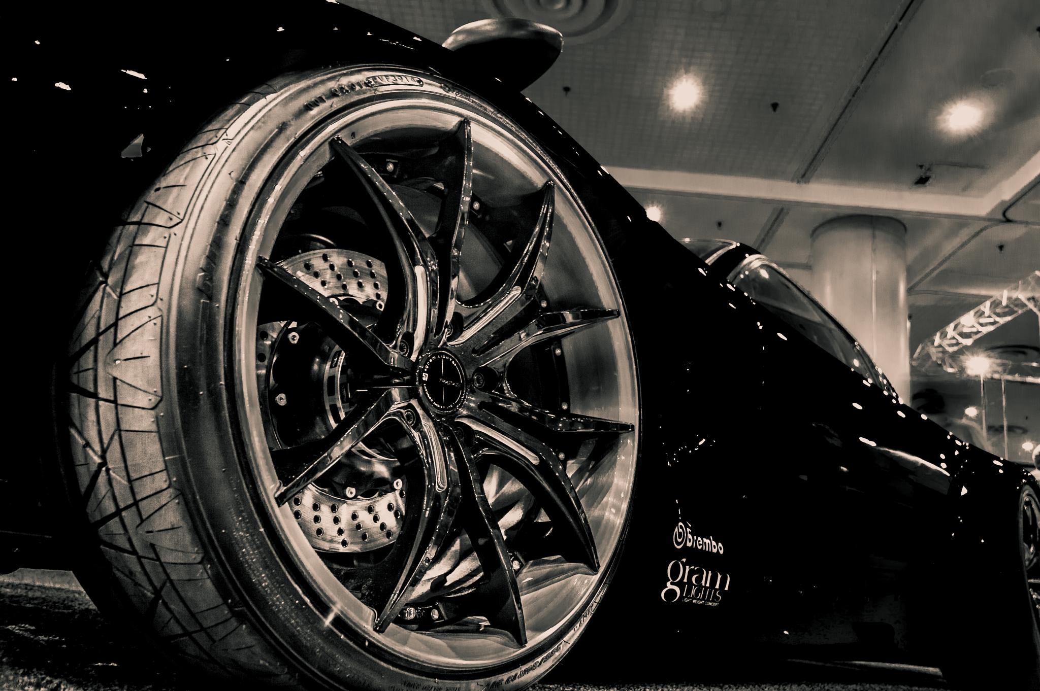 Mighty Wheel !! by Mithun Mondal