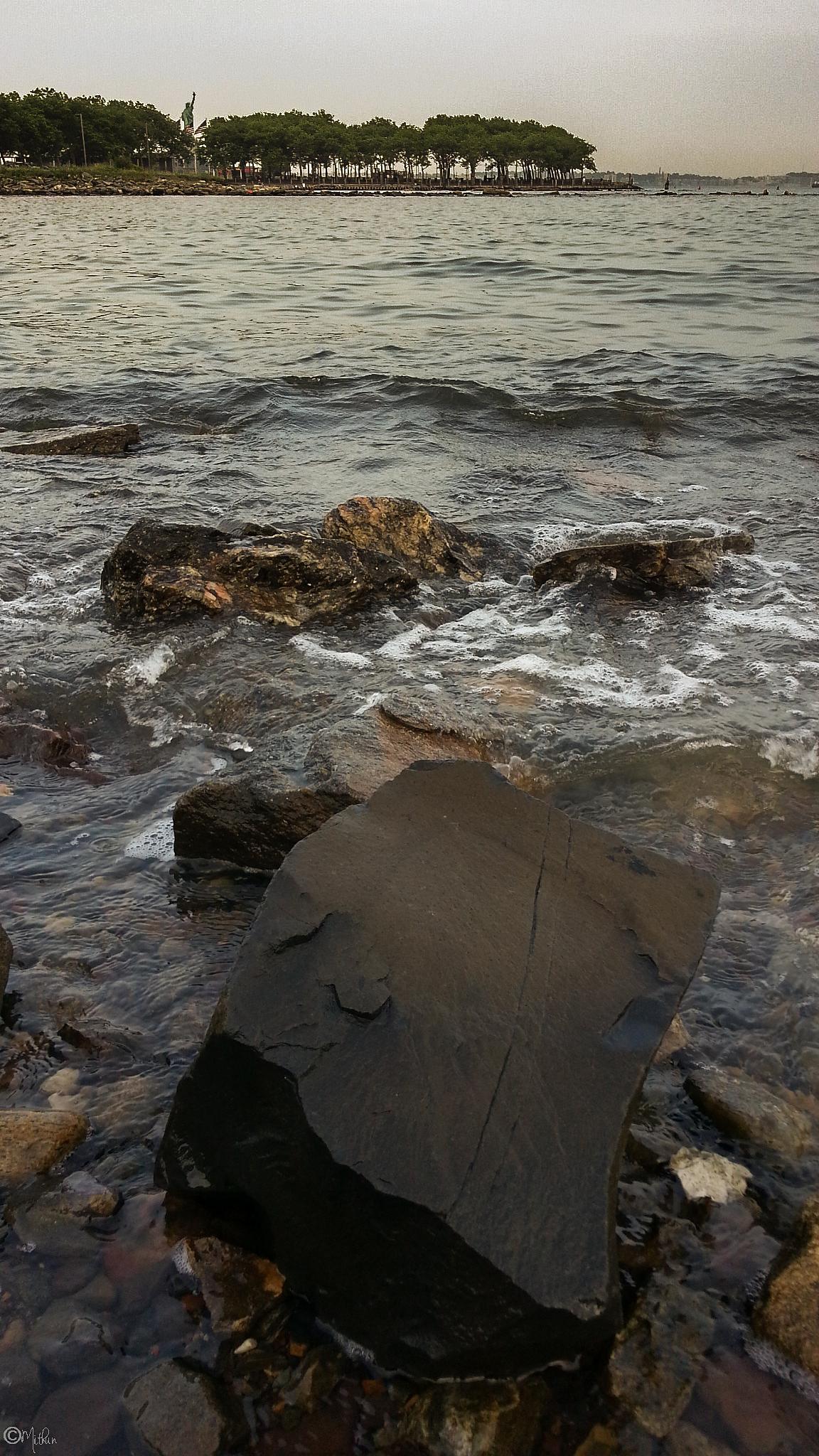 Rocky Shore...!! by Mithun Mondal