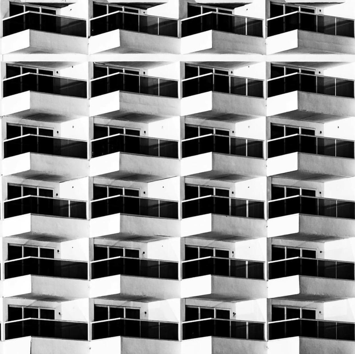 24 balconies by Héctor Antuna