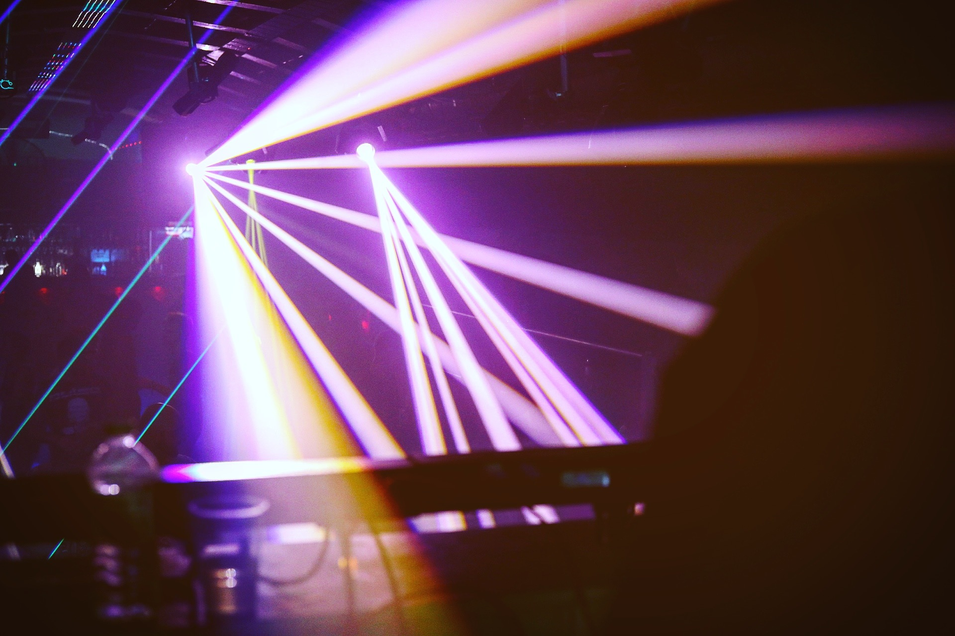 Light show by Ben Clements