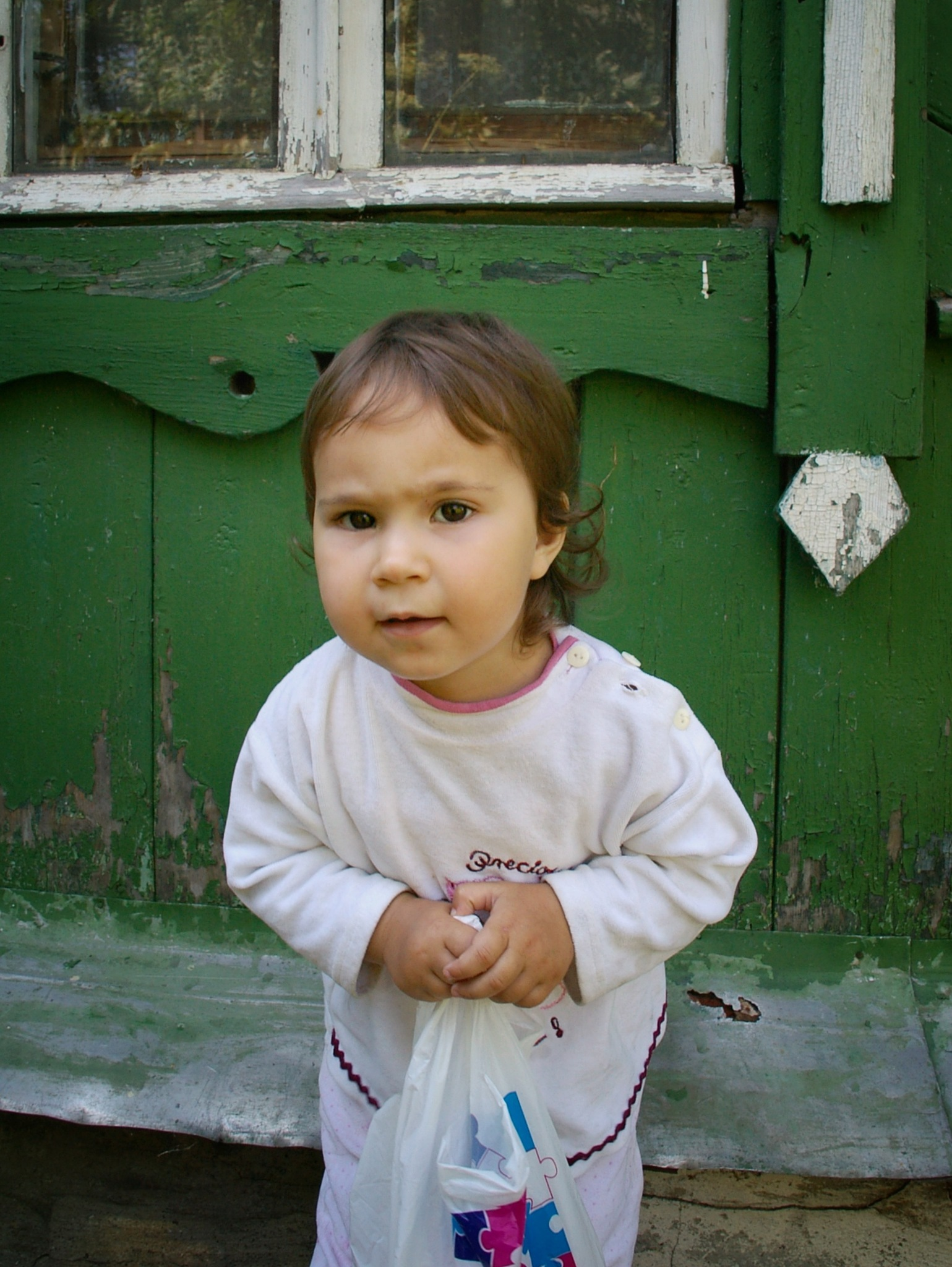 Young girl in a small village near Moscow by Tatiana El-Bakri