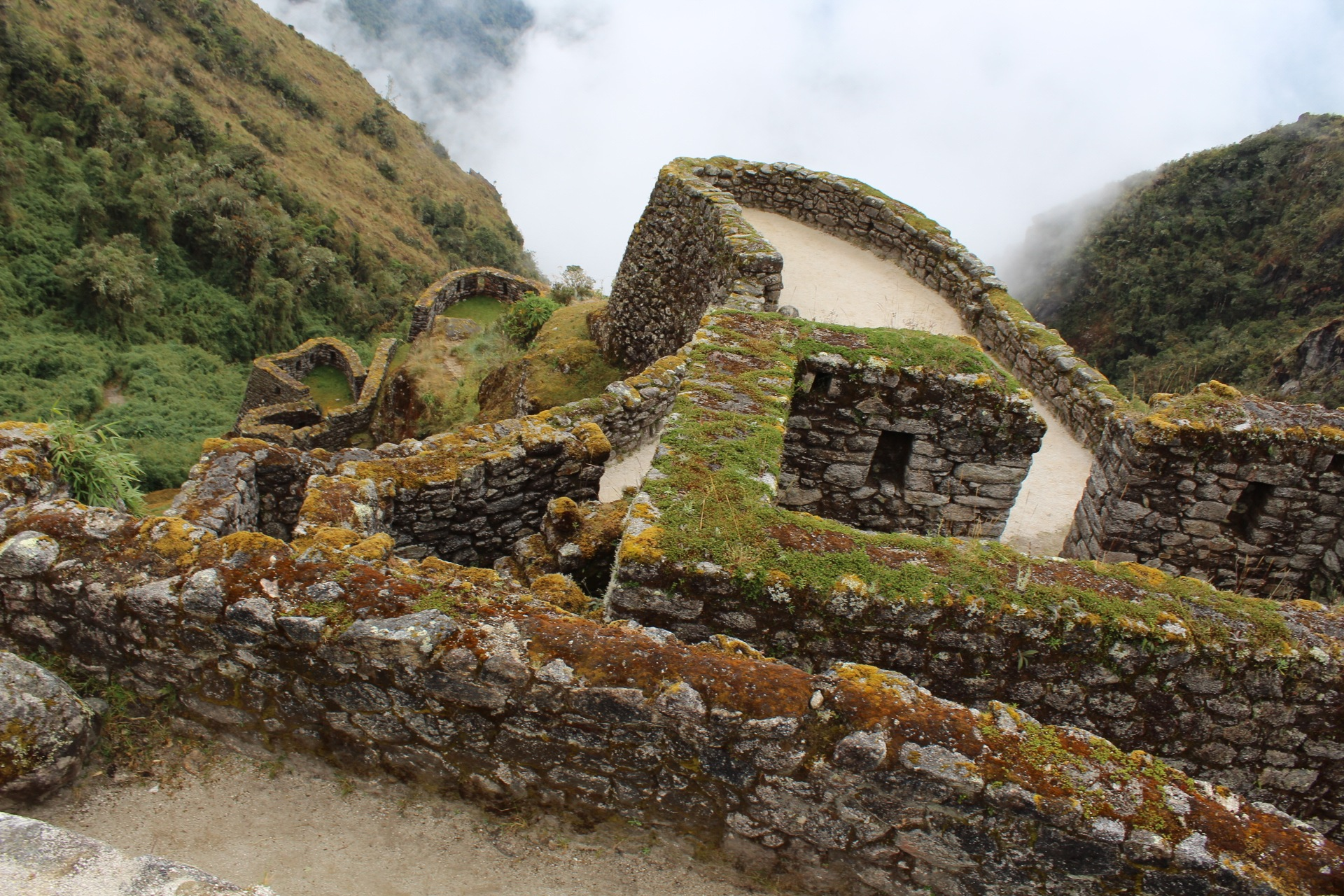 Inca site by Max  Jones