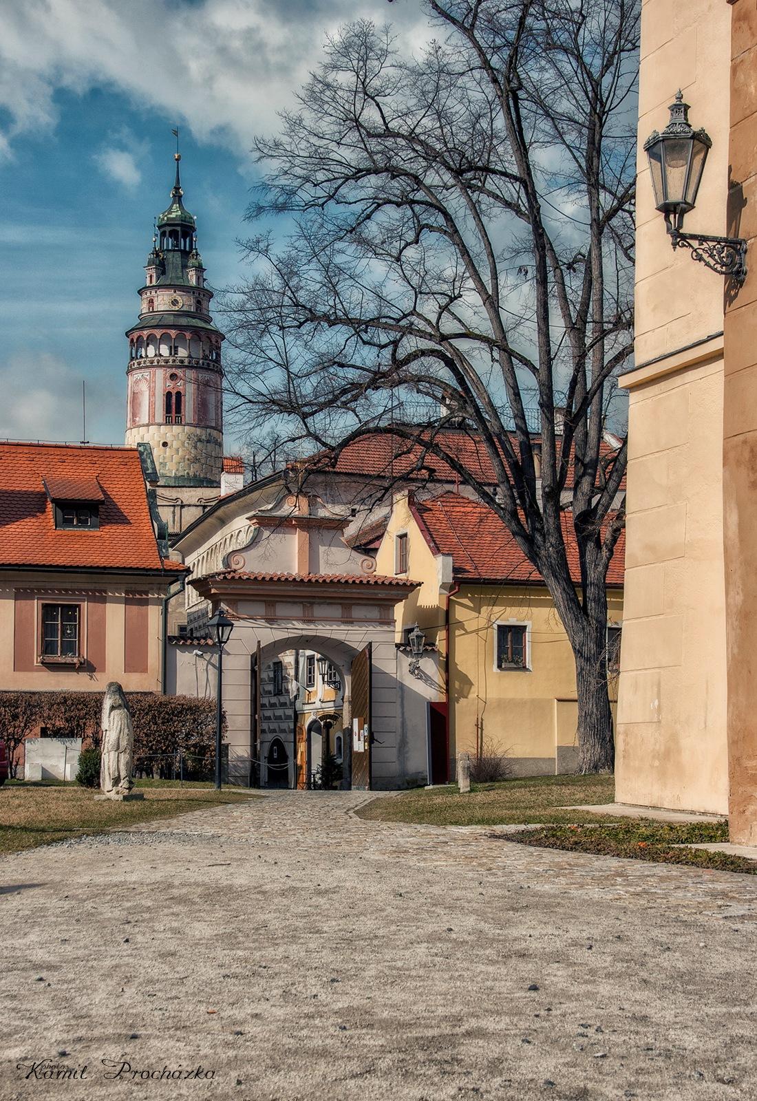 Krumlov Monastery by Kamil Procházka