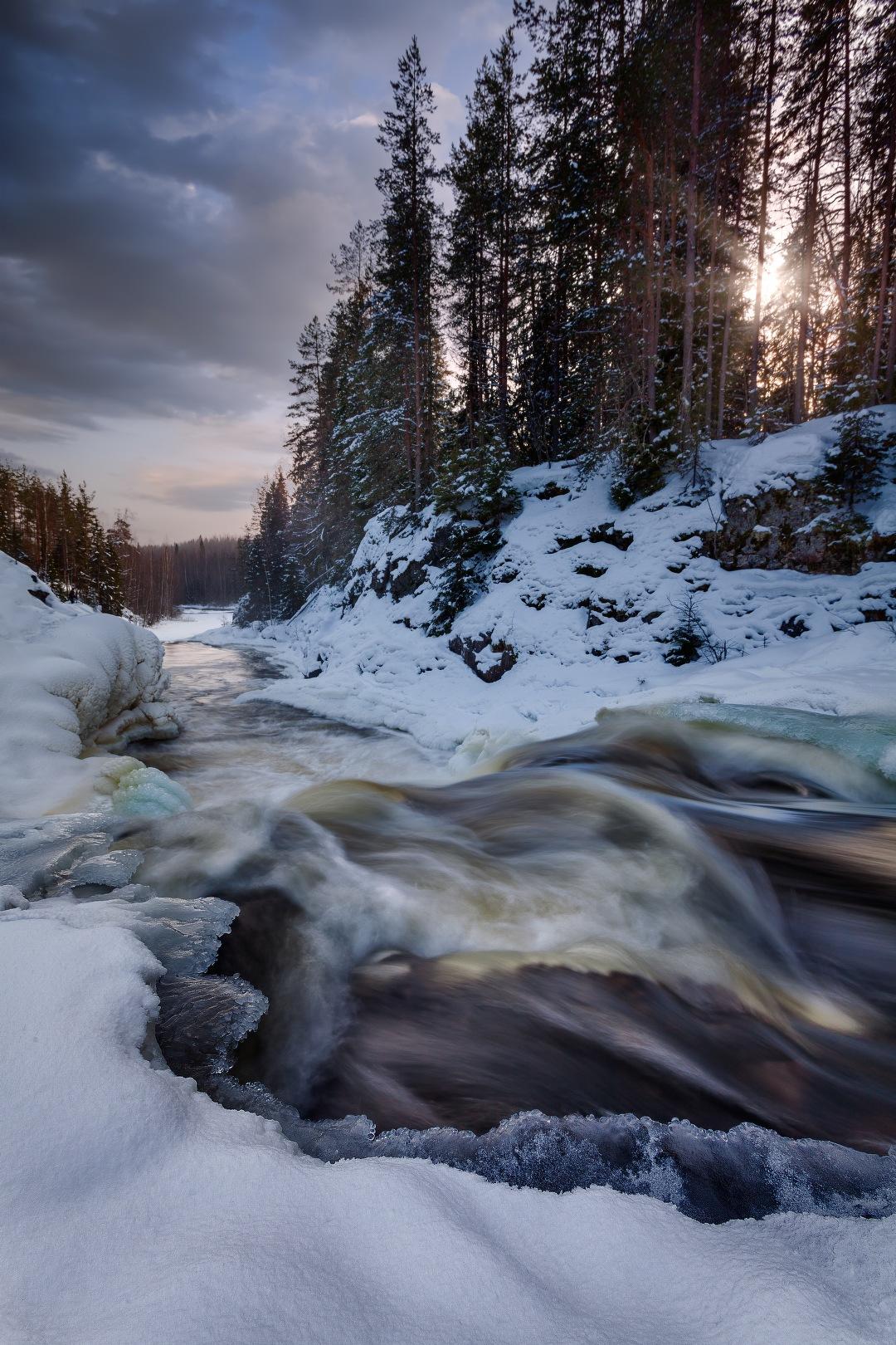 """Waterfall """"Kivach"""" by KrubeK"""