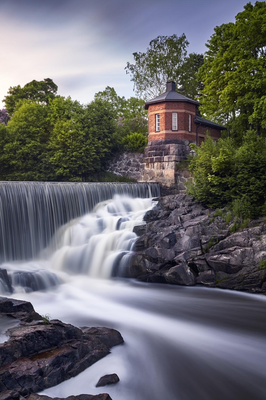 Red Tower Waterfall by KrubeK