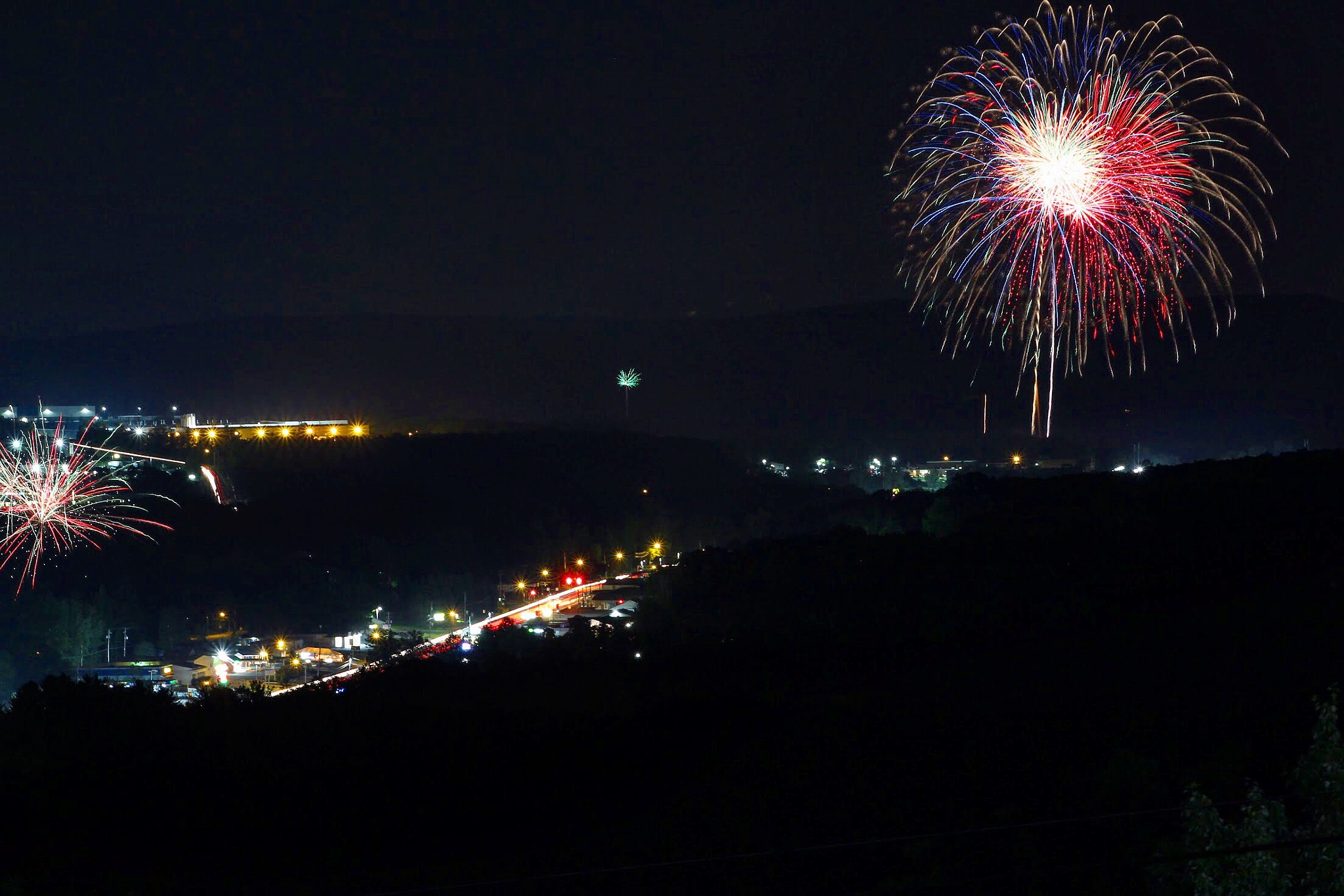 Fireworks by Quinn Roberts