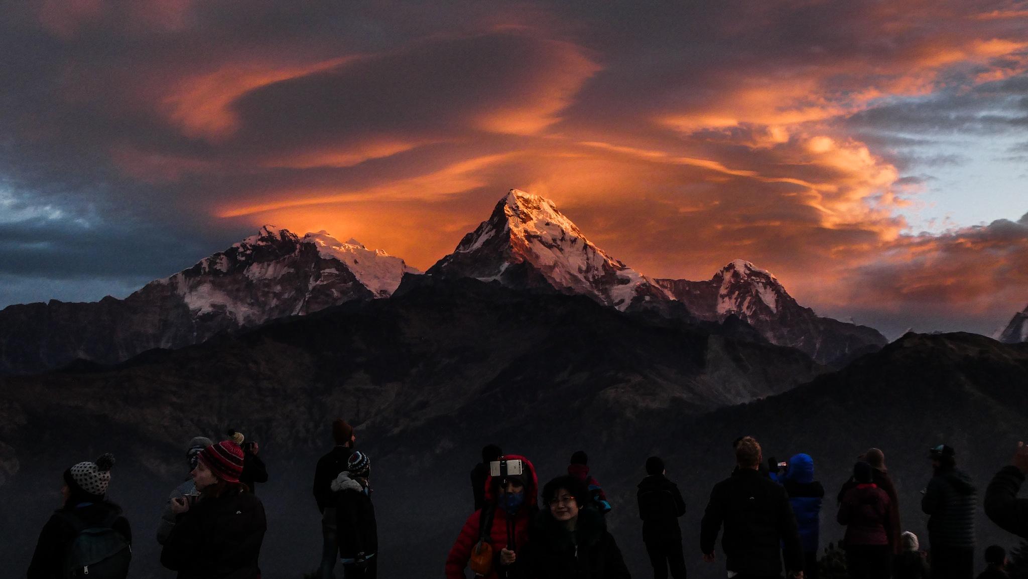 Annapurna Trek, Nepal by Adam Atkinson