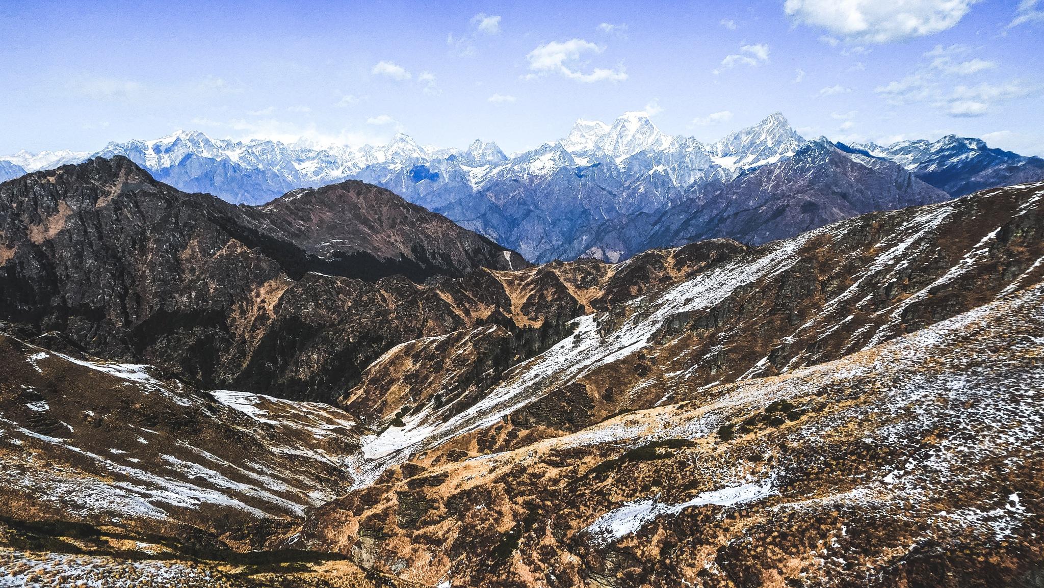 Kuari Pass trek by Adam Atkinson