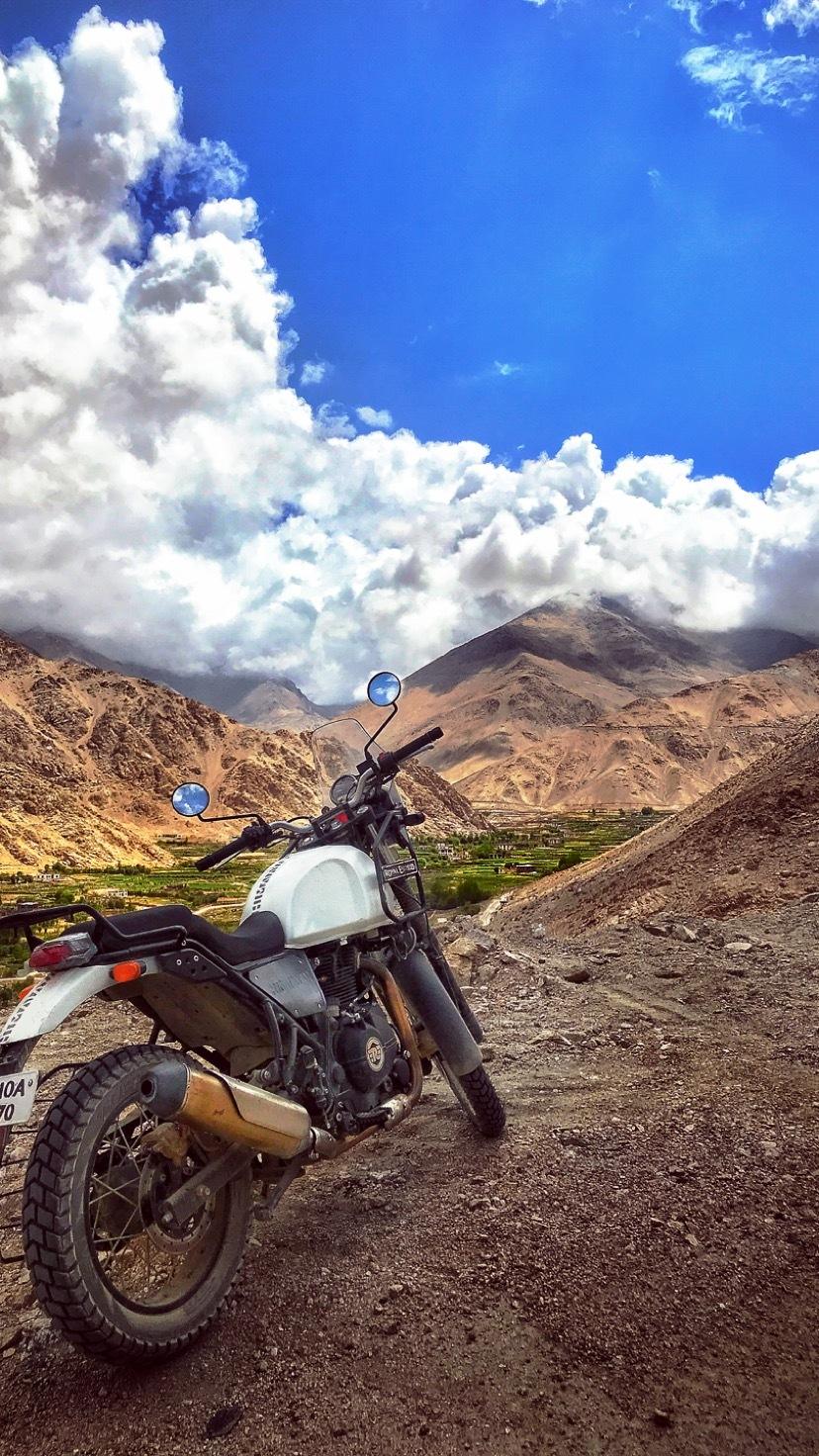 Journey to Pangong Tso by Anish Bhandari