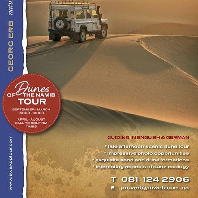 Namib Desert Dunes Tour by Xenia