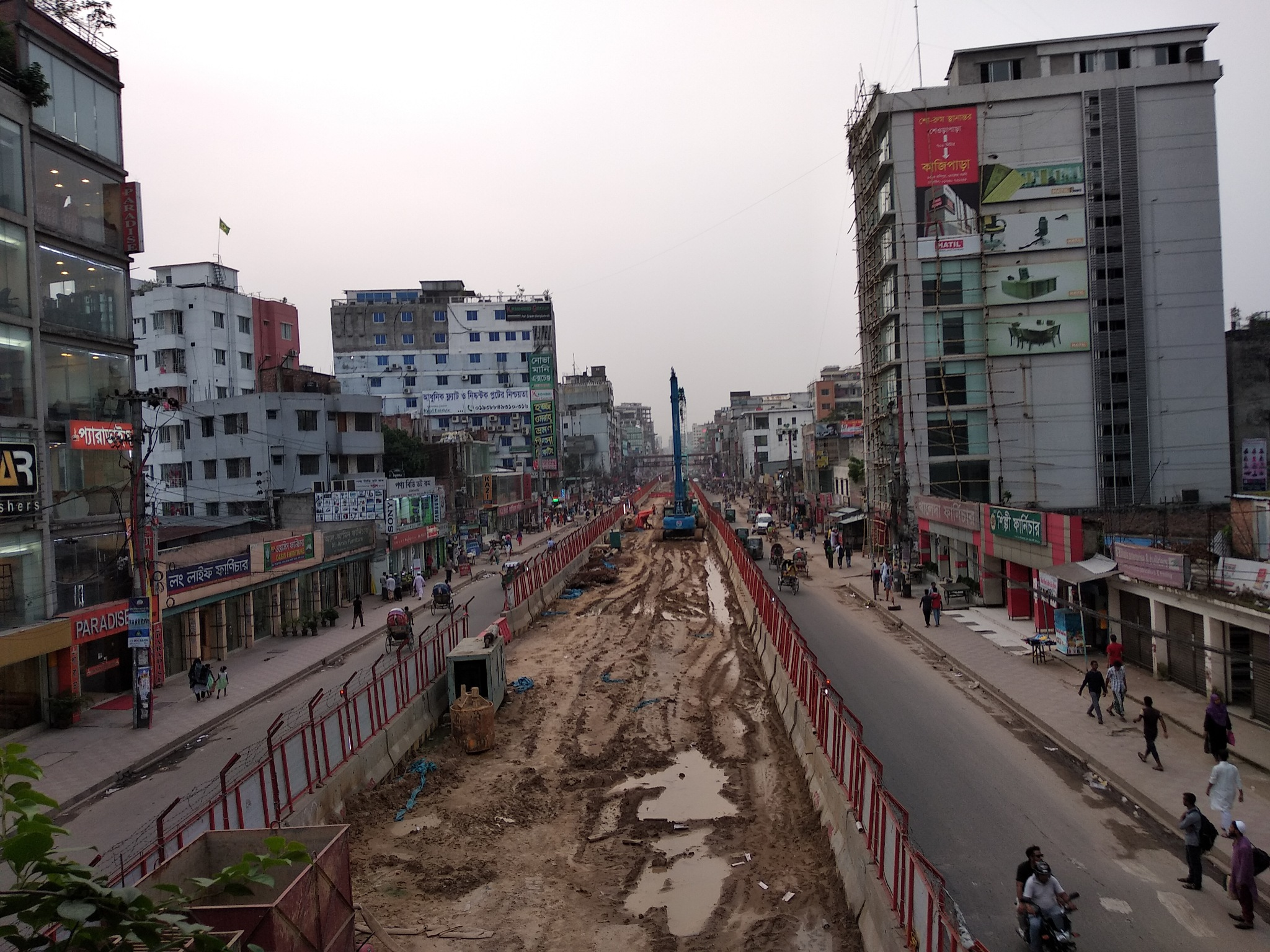 Metro rail dhaka by Sazzad Hossain ITP CSCA