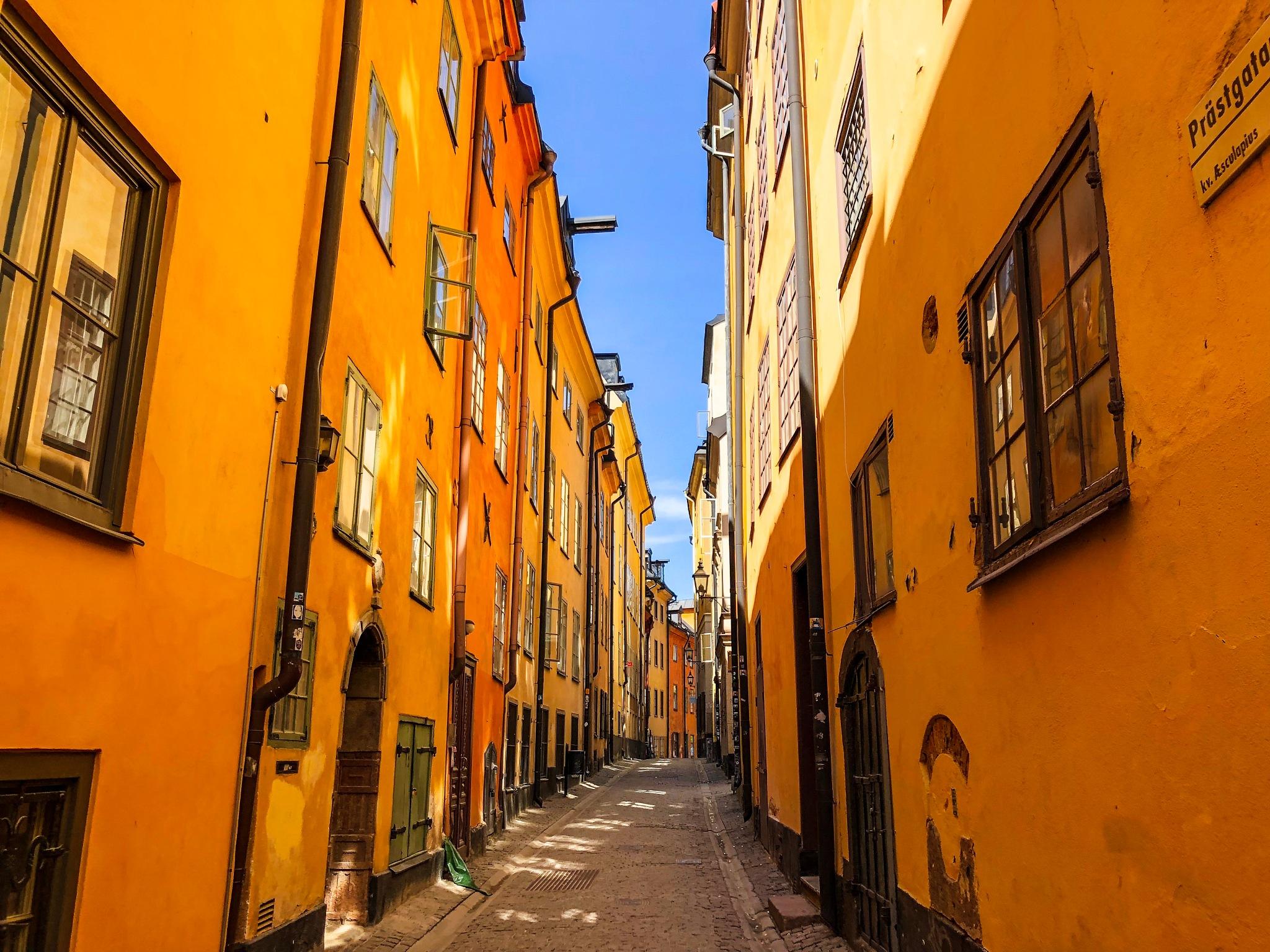 Gamlastan Stockholm  by Kristin