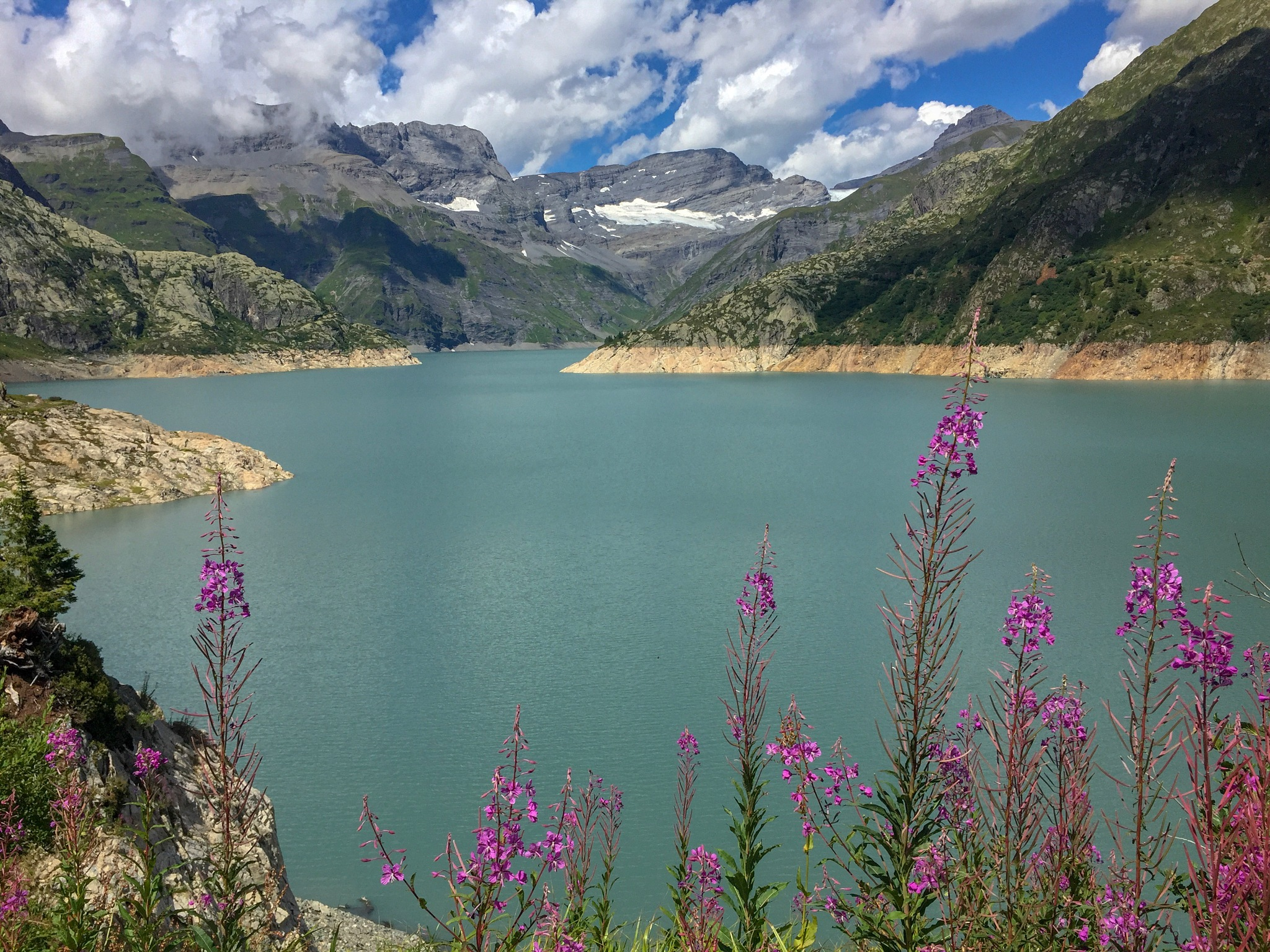 Hike to Lac d'Emosson  by Kristin