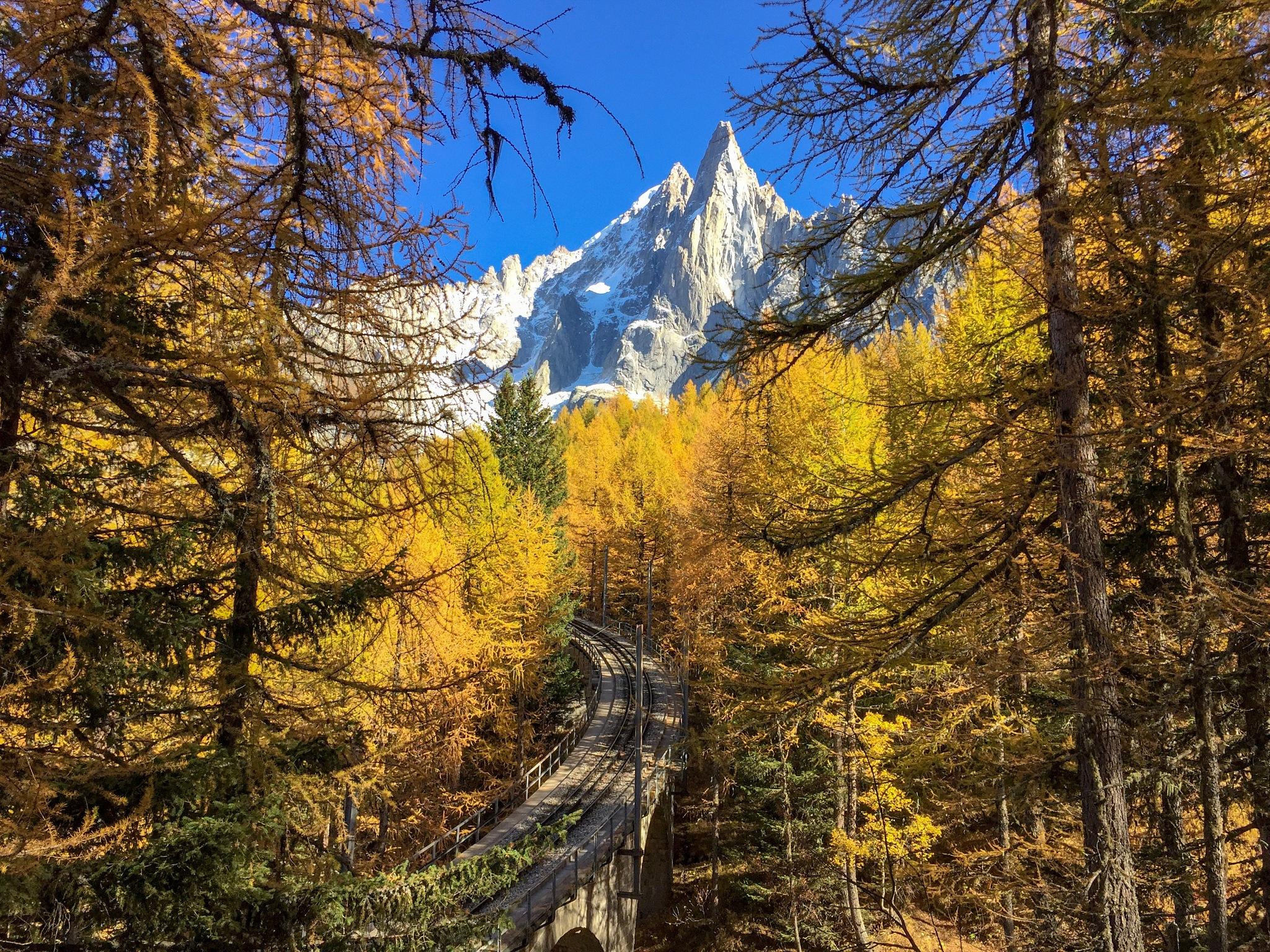 Hiking Mer de Glace Chamonix  by Kristin