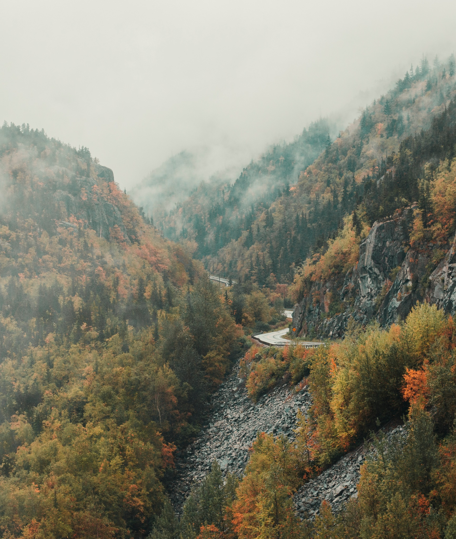 Alaskan Autumn by Nathan Hawkins