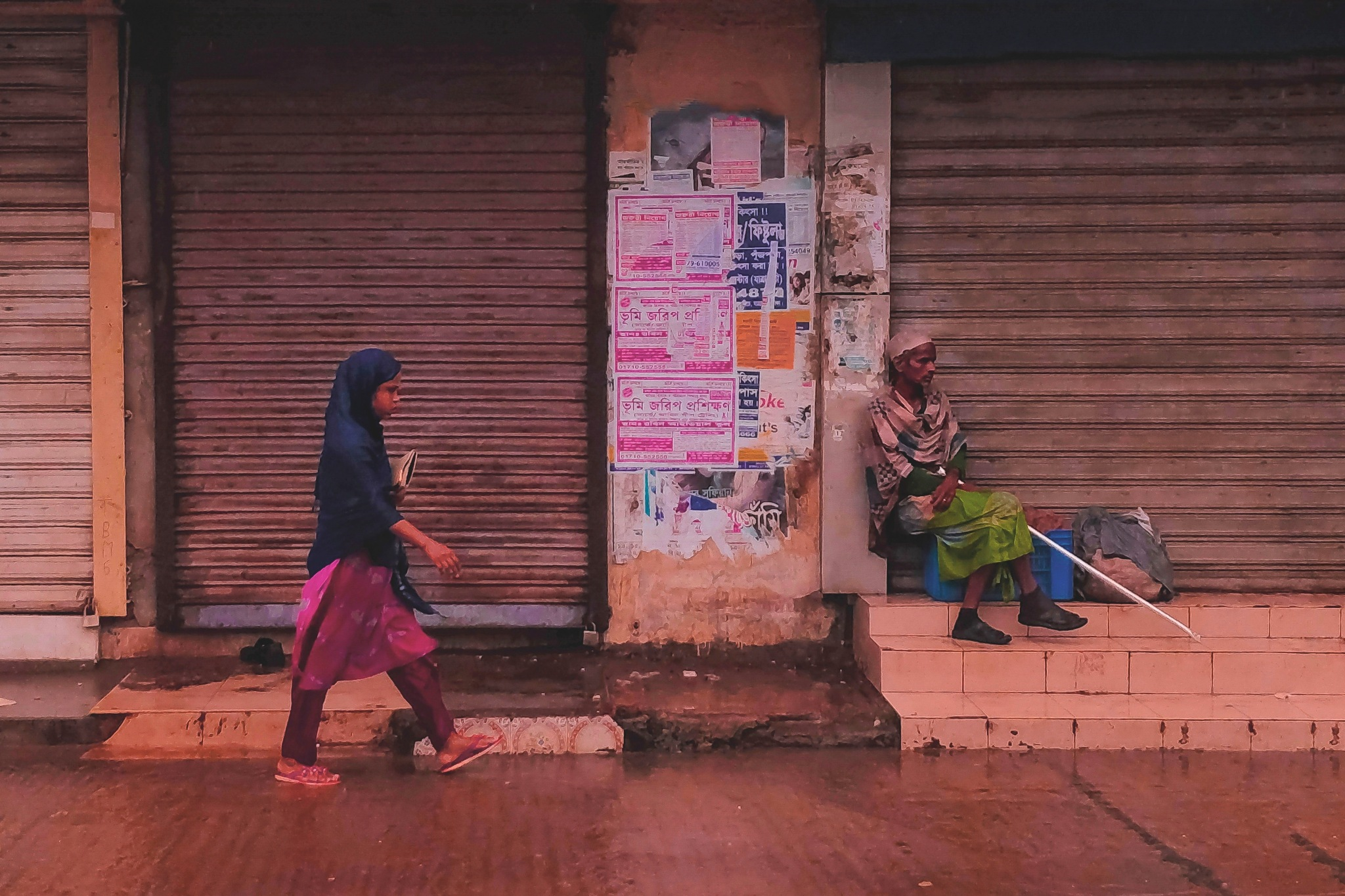 One society , Different lifestyle by Partha Roy
