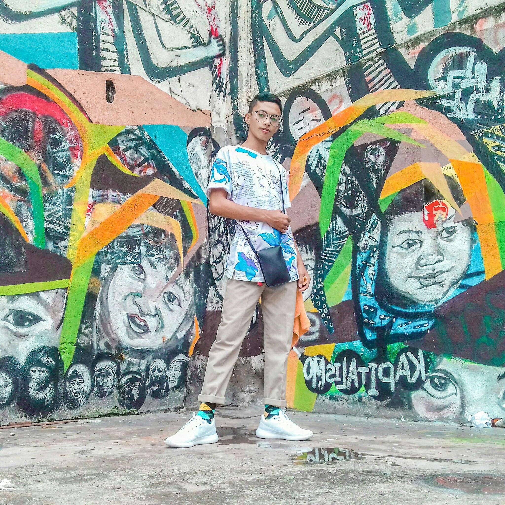 graffiti art background by Bryan Lenard Alipio