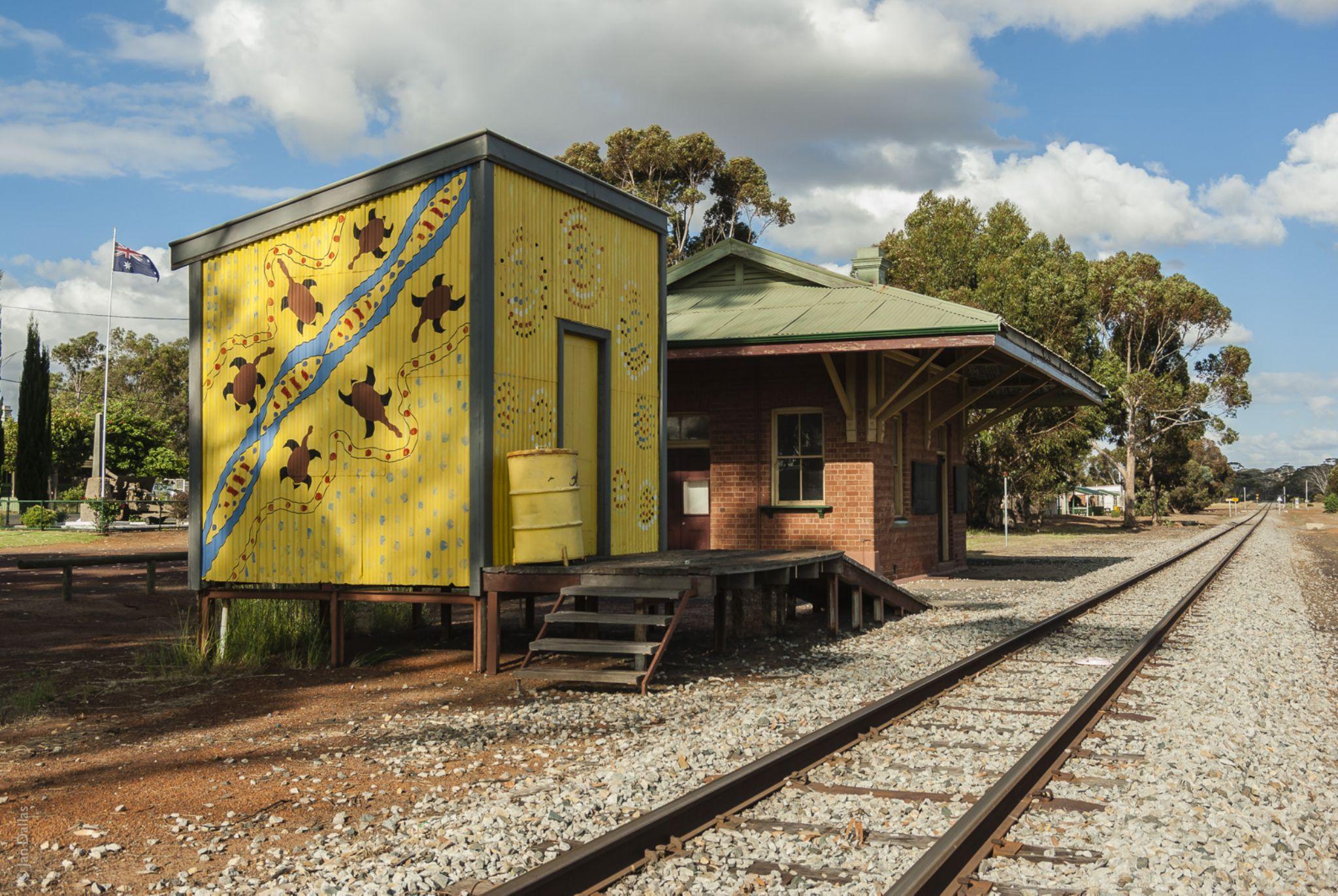 Dumbleyung Station by Jan Dallas