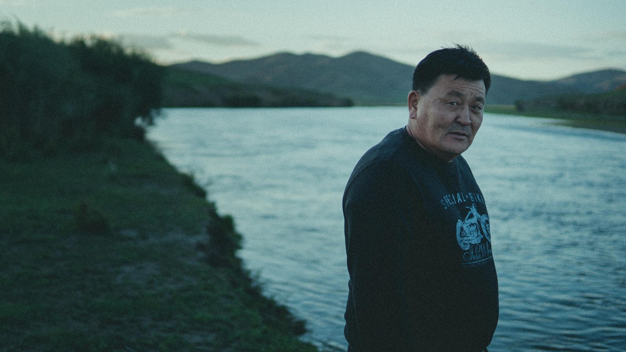Ex-wrestler by Glenn Ng