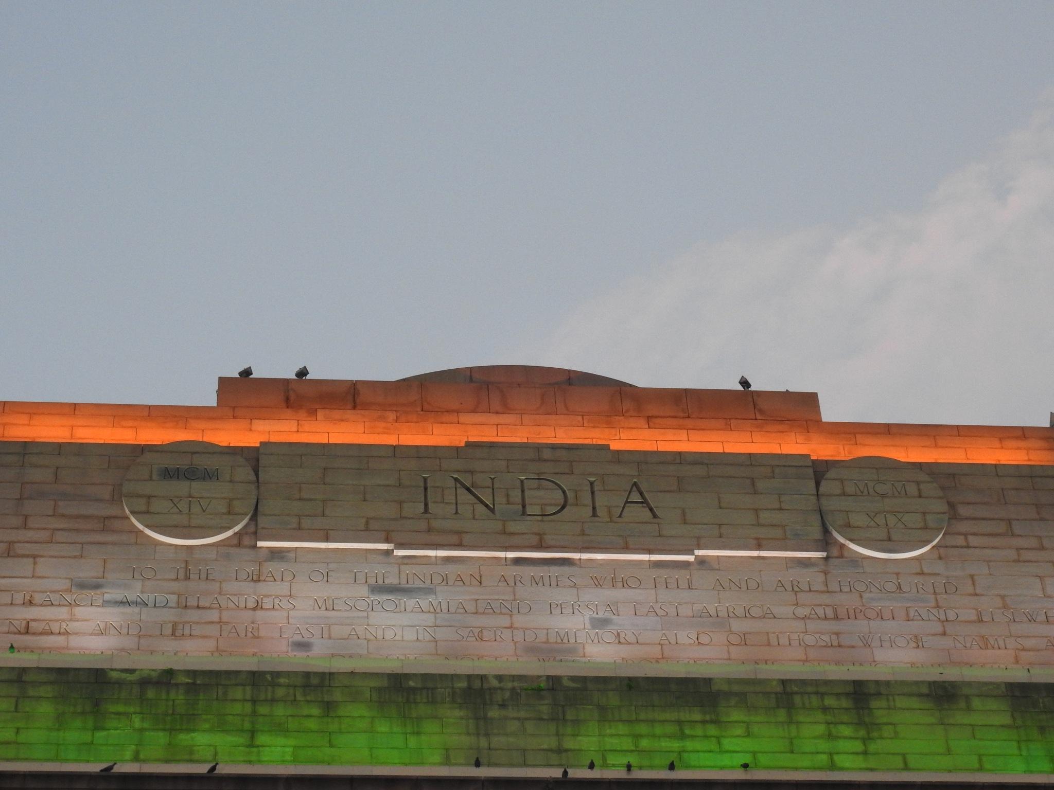 India gate  by Shreyash Singh Sachan