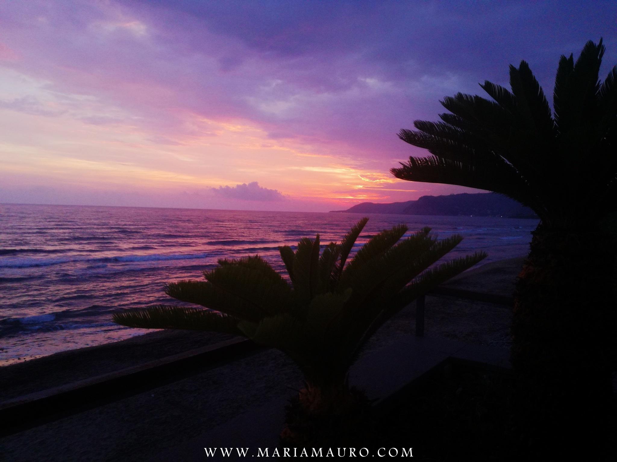 Violet Sunset by MariaMauroFotografie