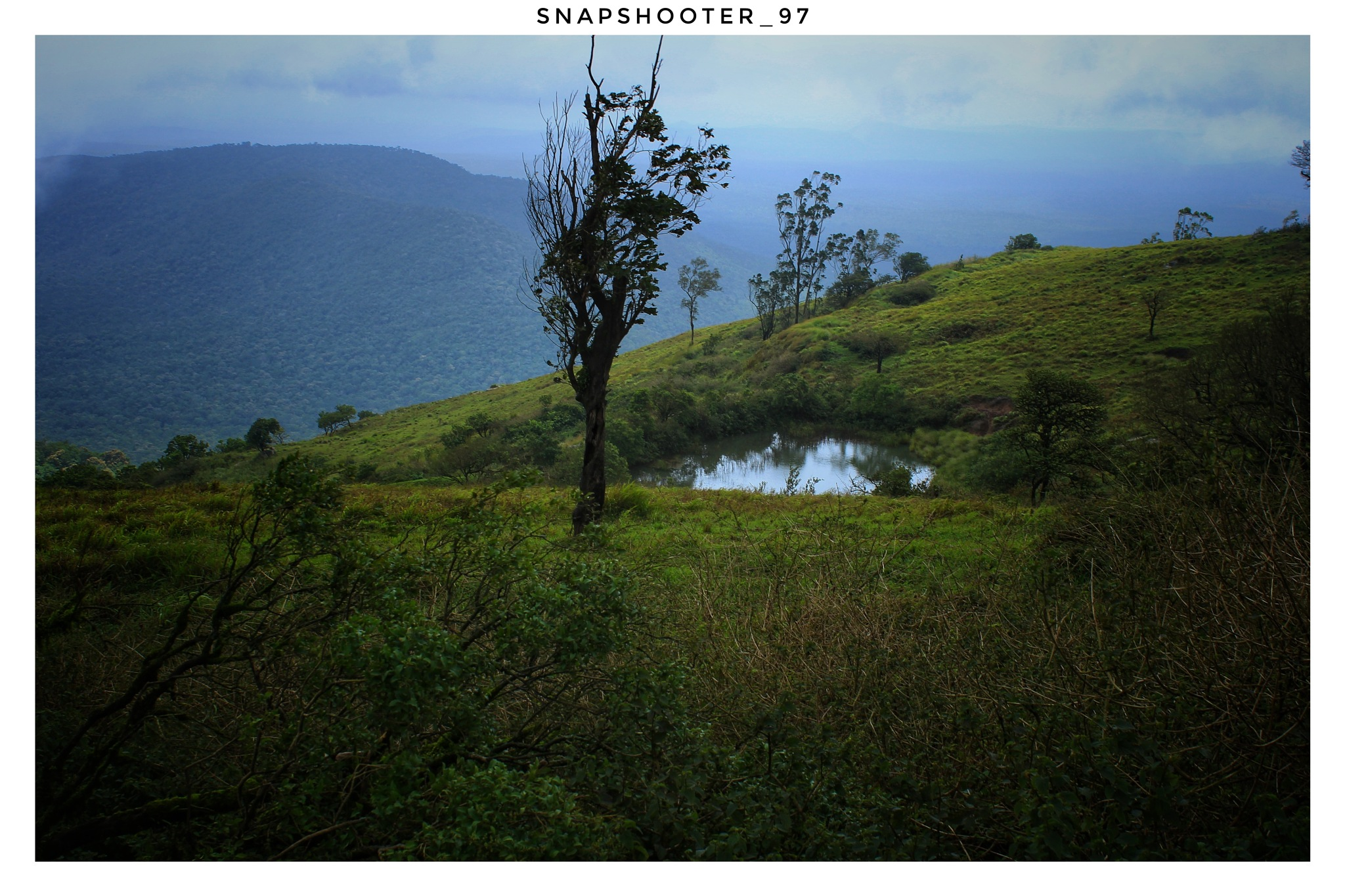The pond on the top of the peak is one of the most beautiful place by Gokul Sasidharan