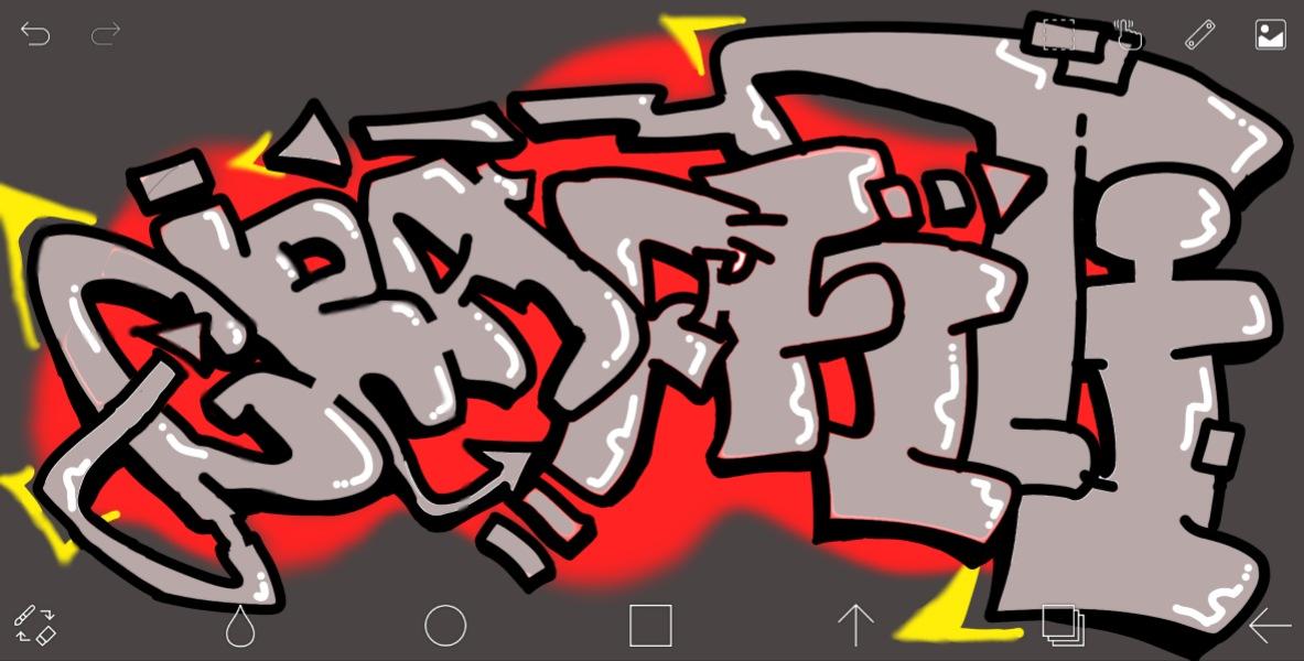 Graffiti by daniel Sandell
