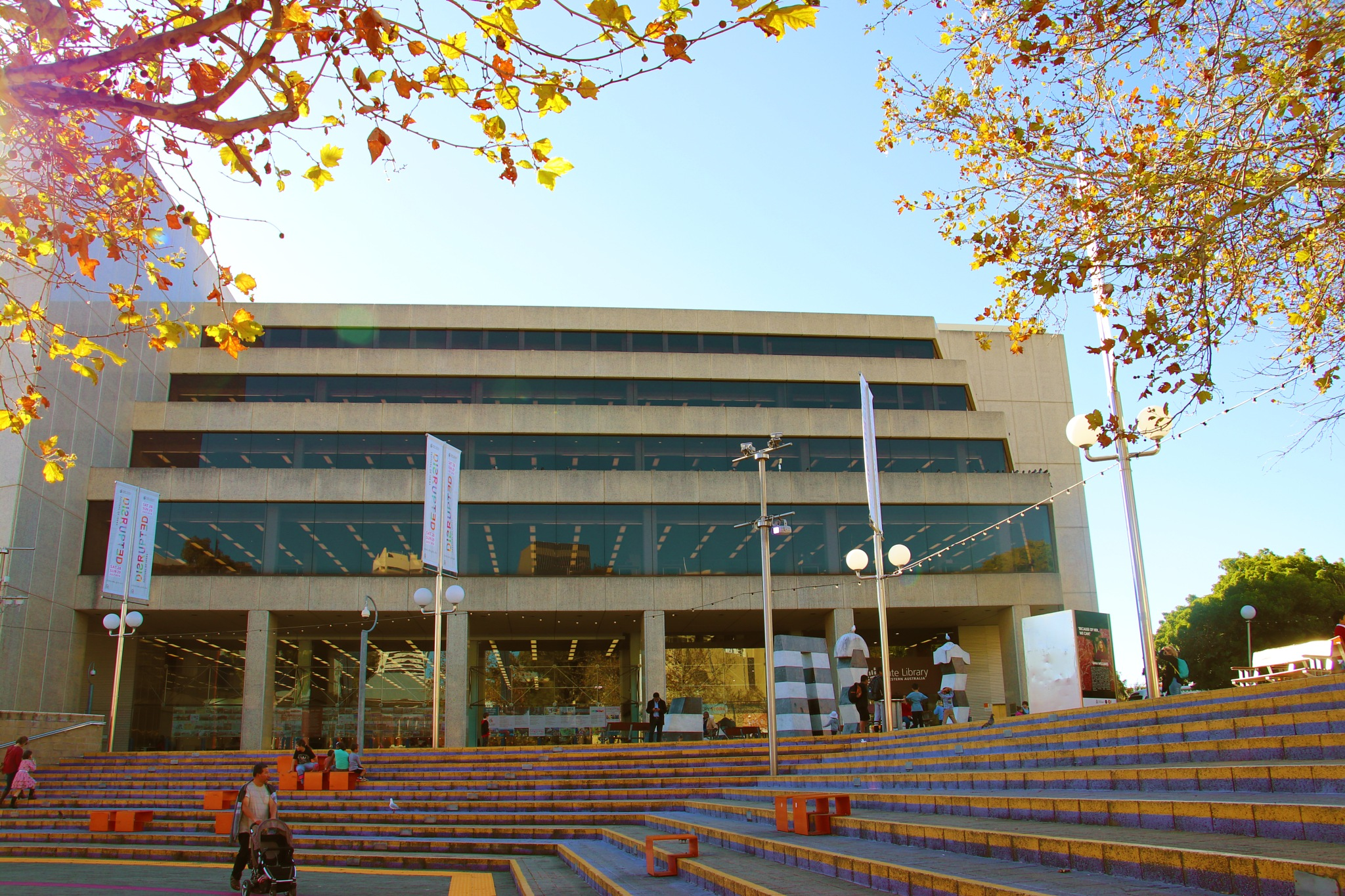 State Library of Western Australia by Jonathan Brian