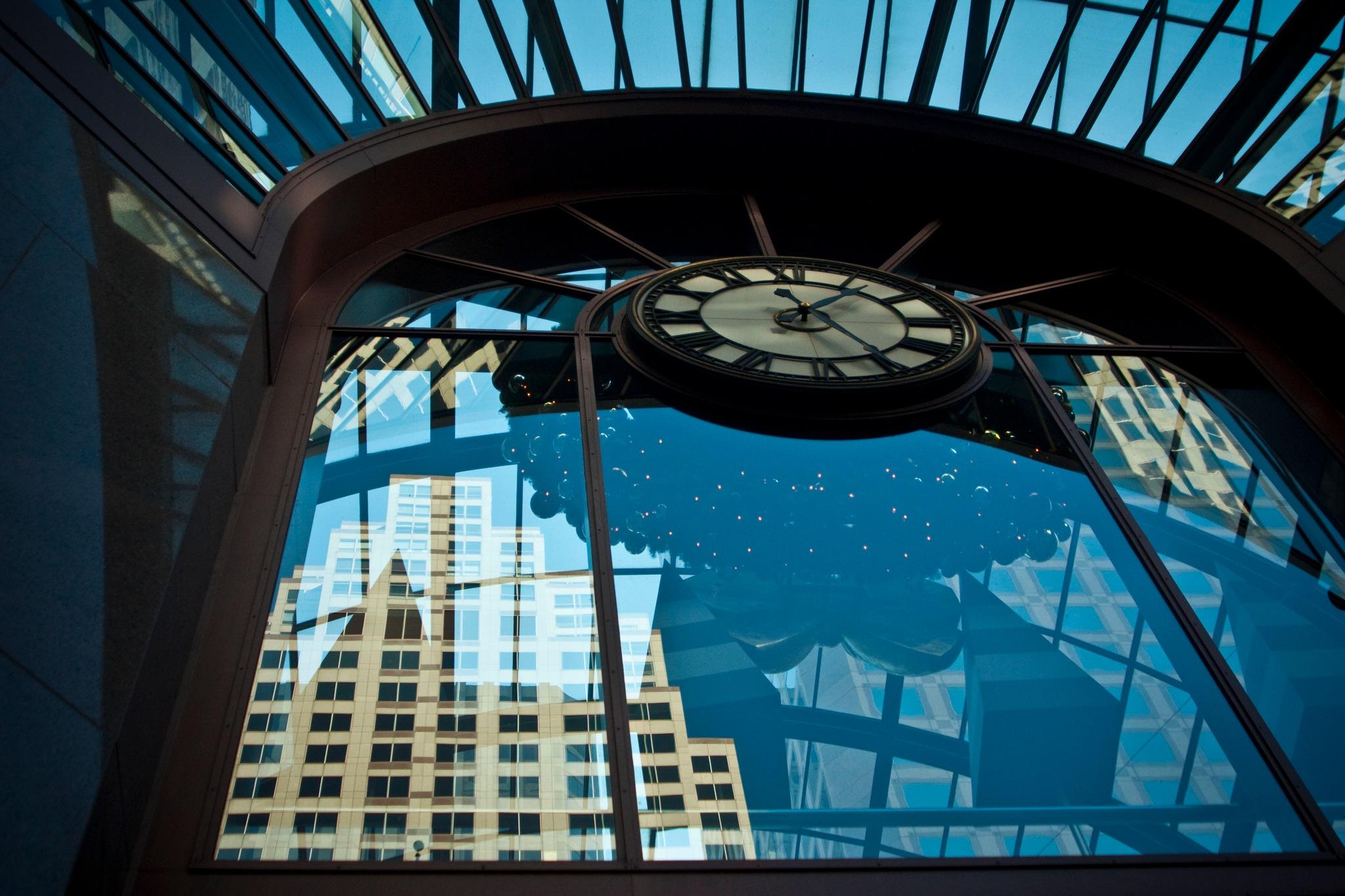 SF city reflections. by metafizics