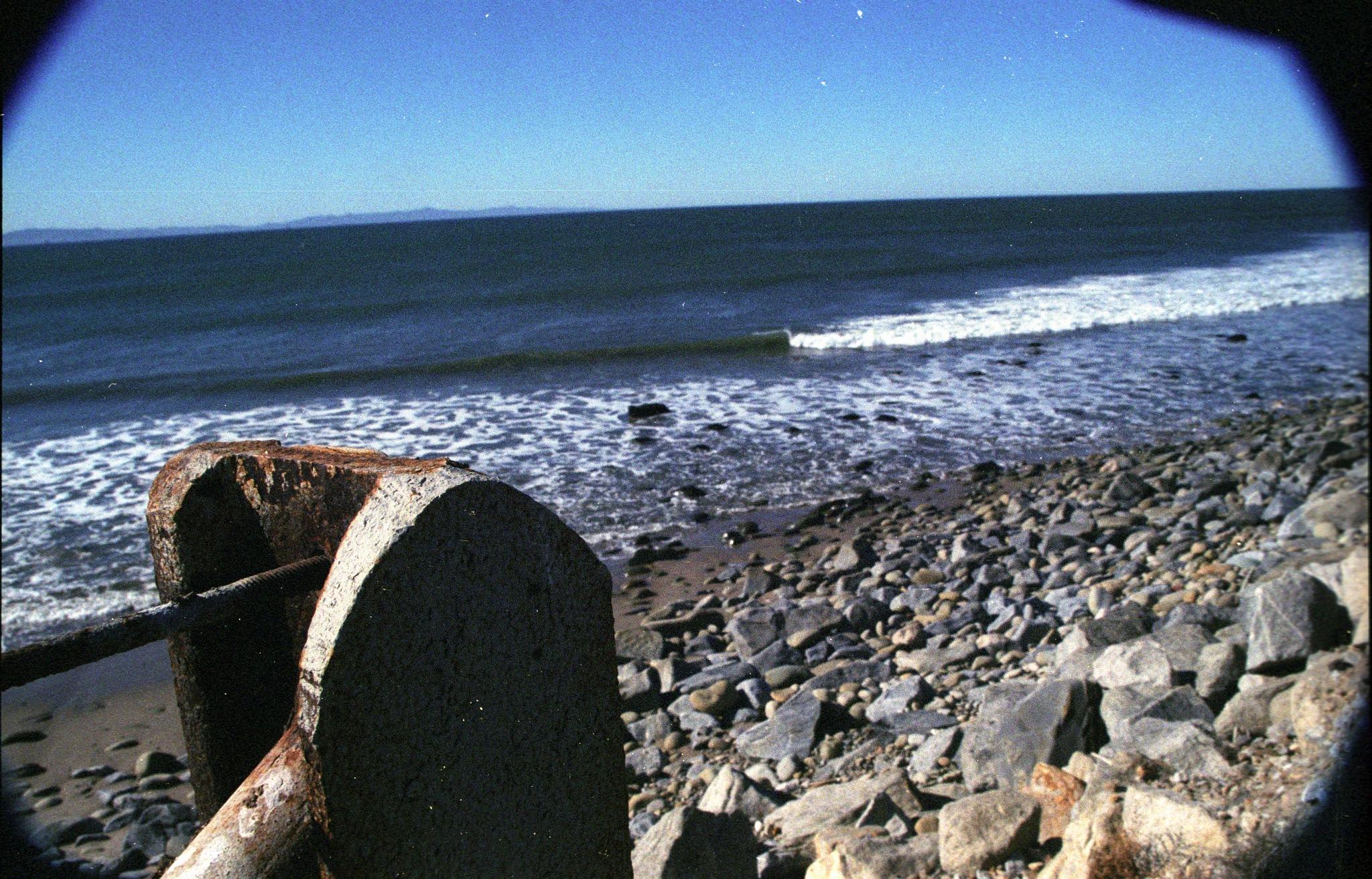 rocky beach by metafizics