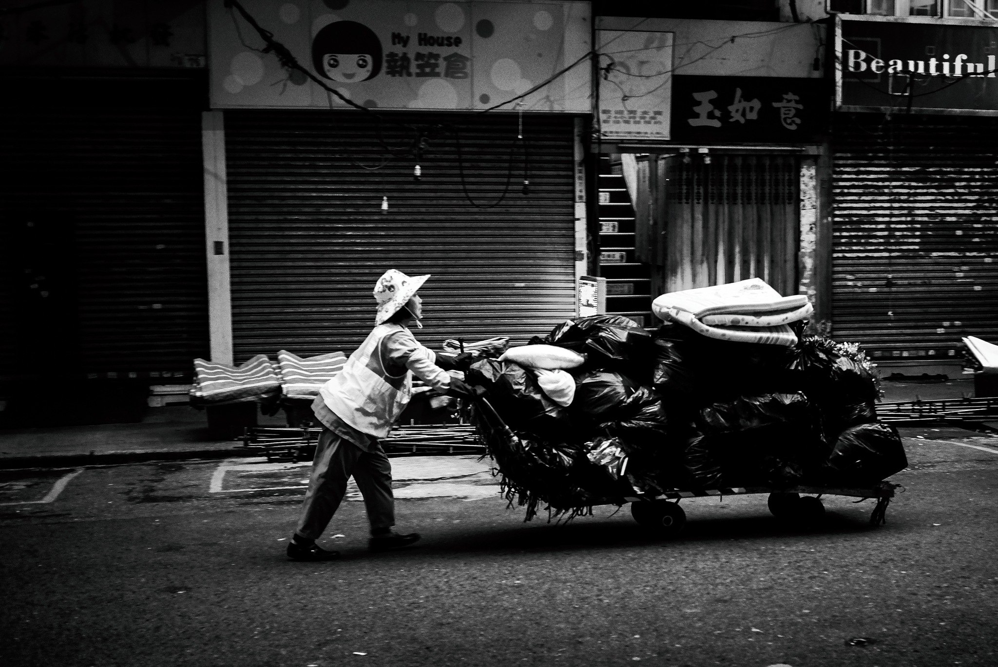 Early Morning HK Street by JohnnyG_Photography
