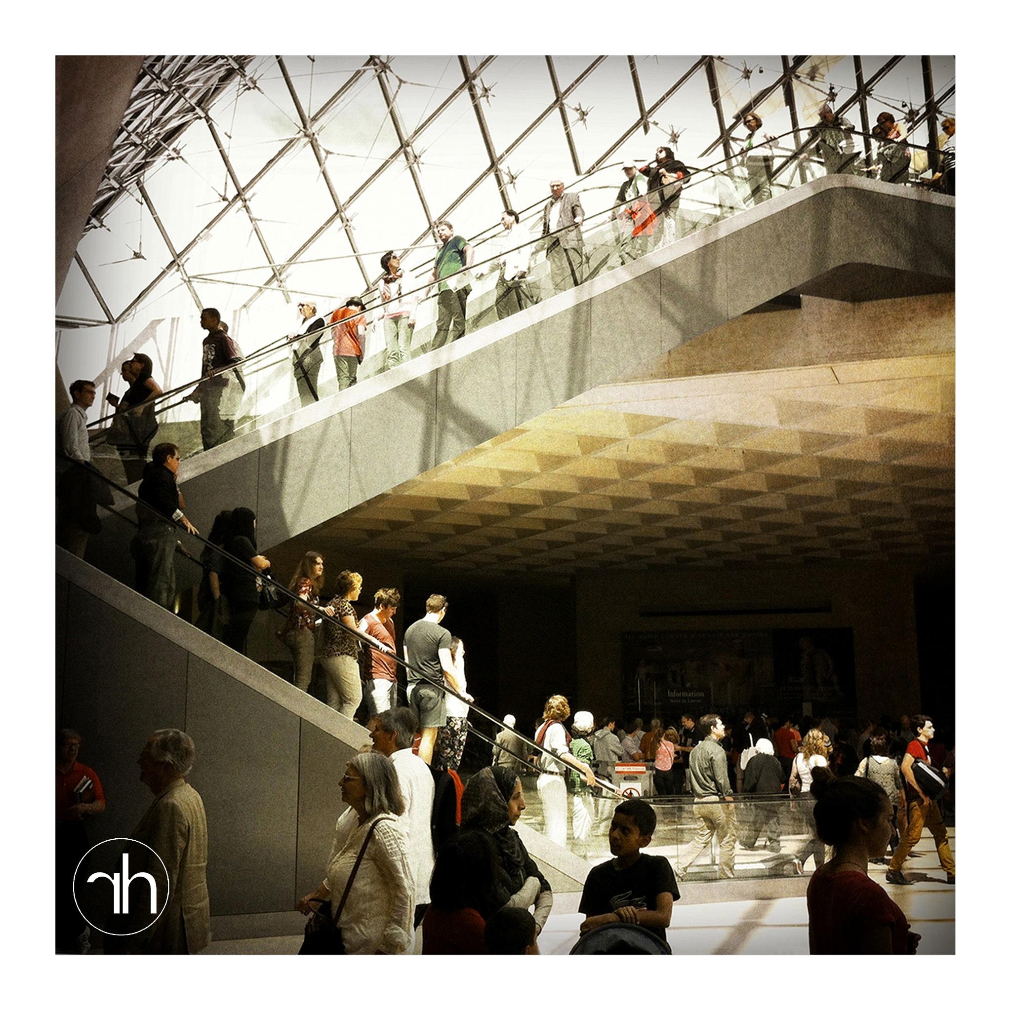 LOUVRE MUSEUM, PARIS by Richard Halmans