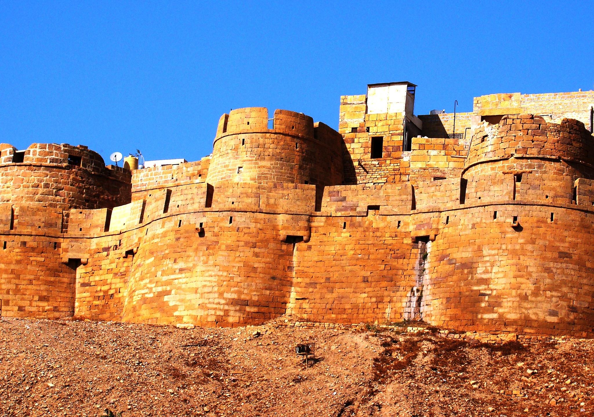 The Golden Fort - Jaisalmir India  by Crazy Dreamz