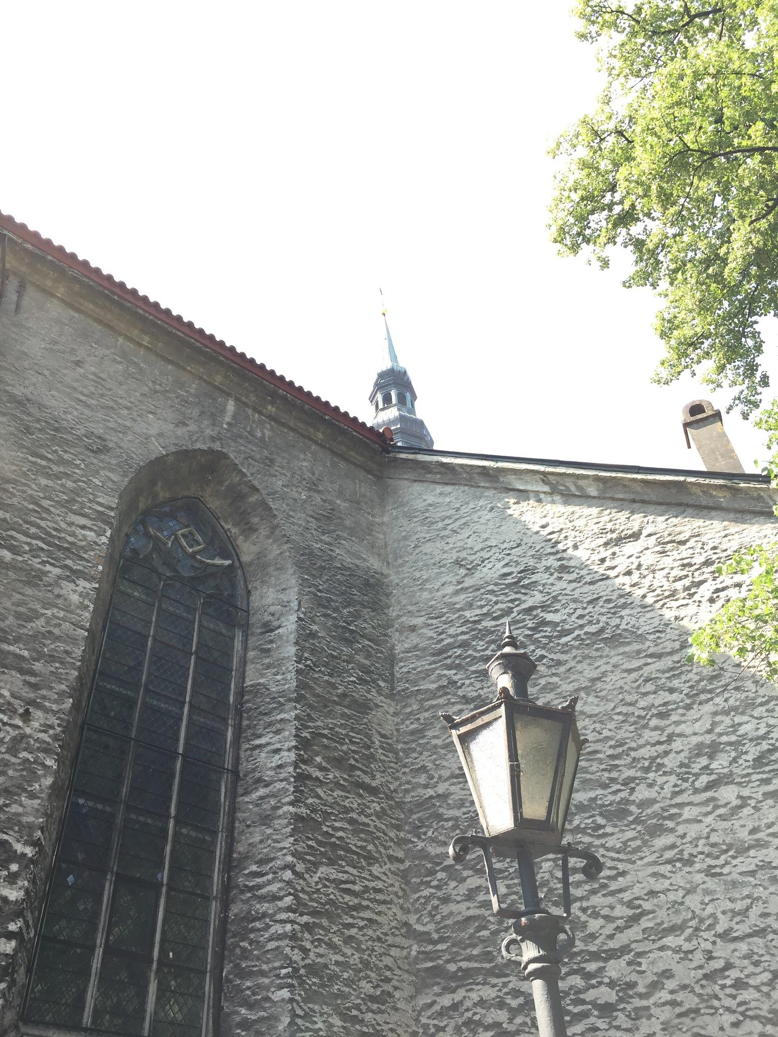 Church a litt by Peter P C