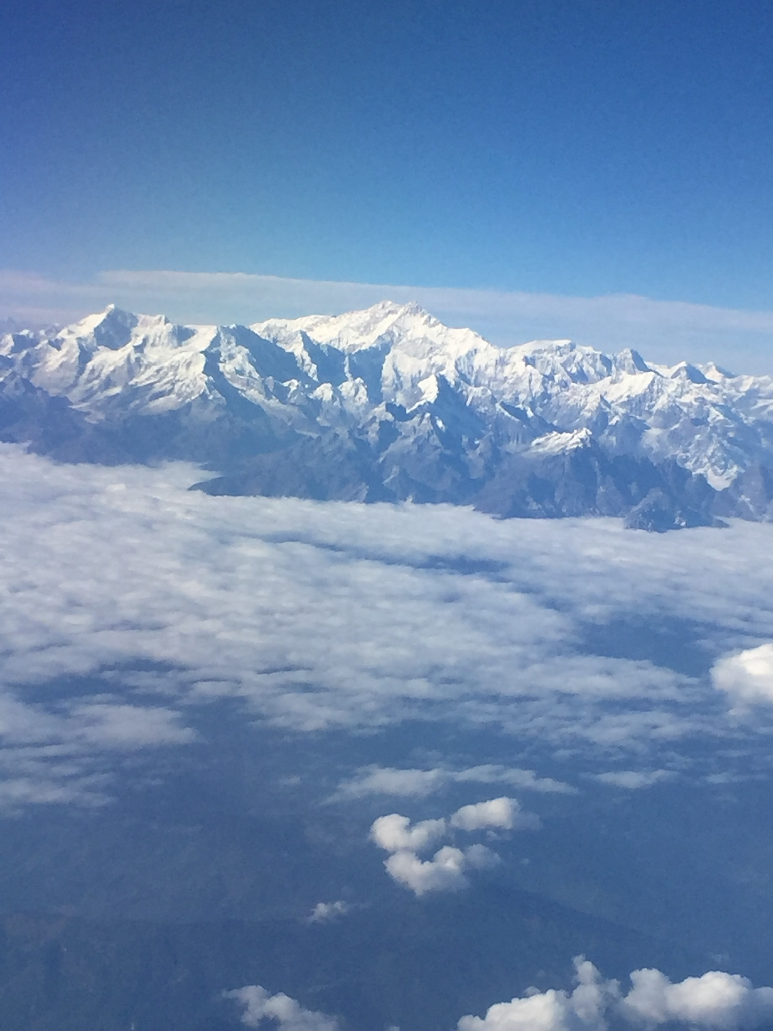 Himalaya: mount Everest... by Peter P C
