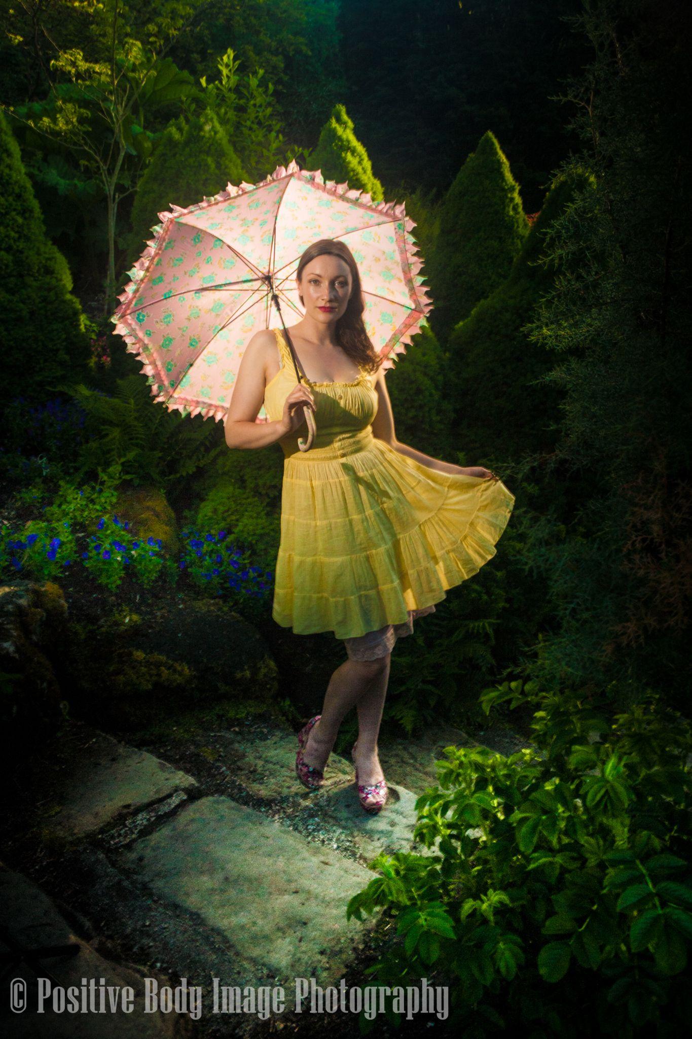Caitlan in  Wonderland by Ira Rotenberg